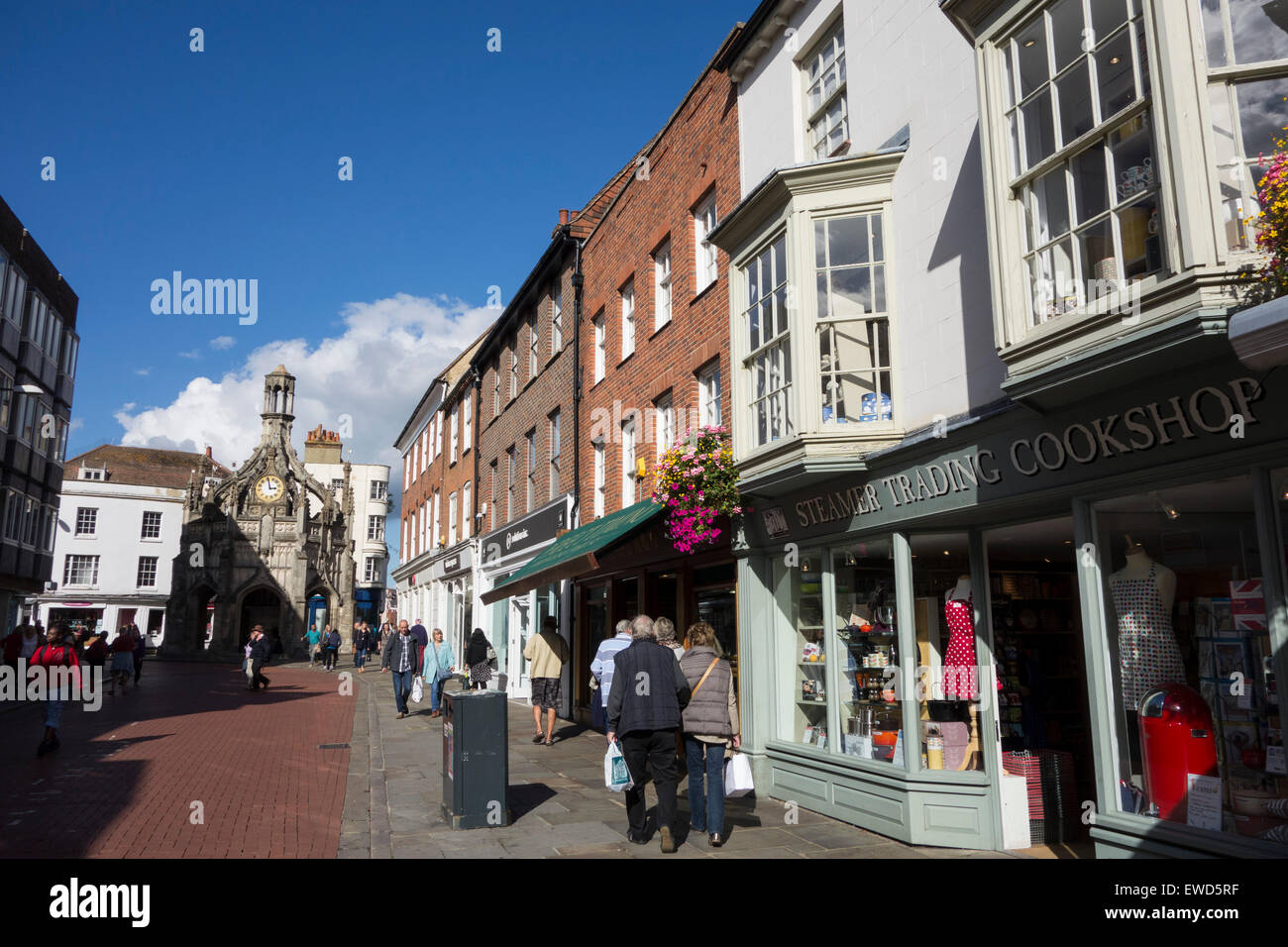 South St Chichester city centre England Stock Photo