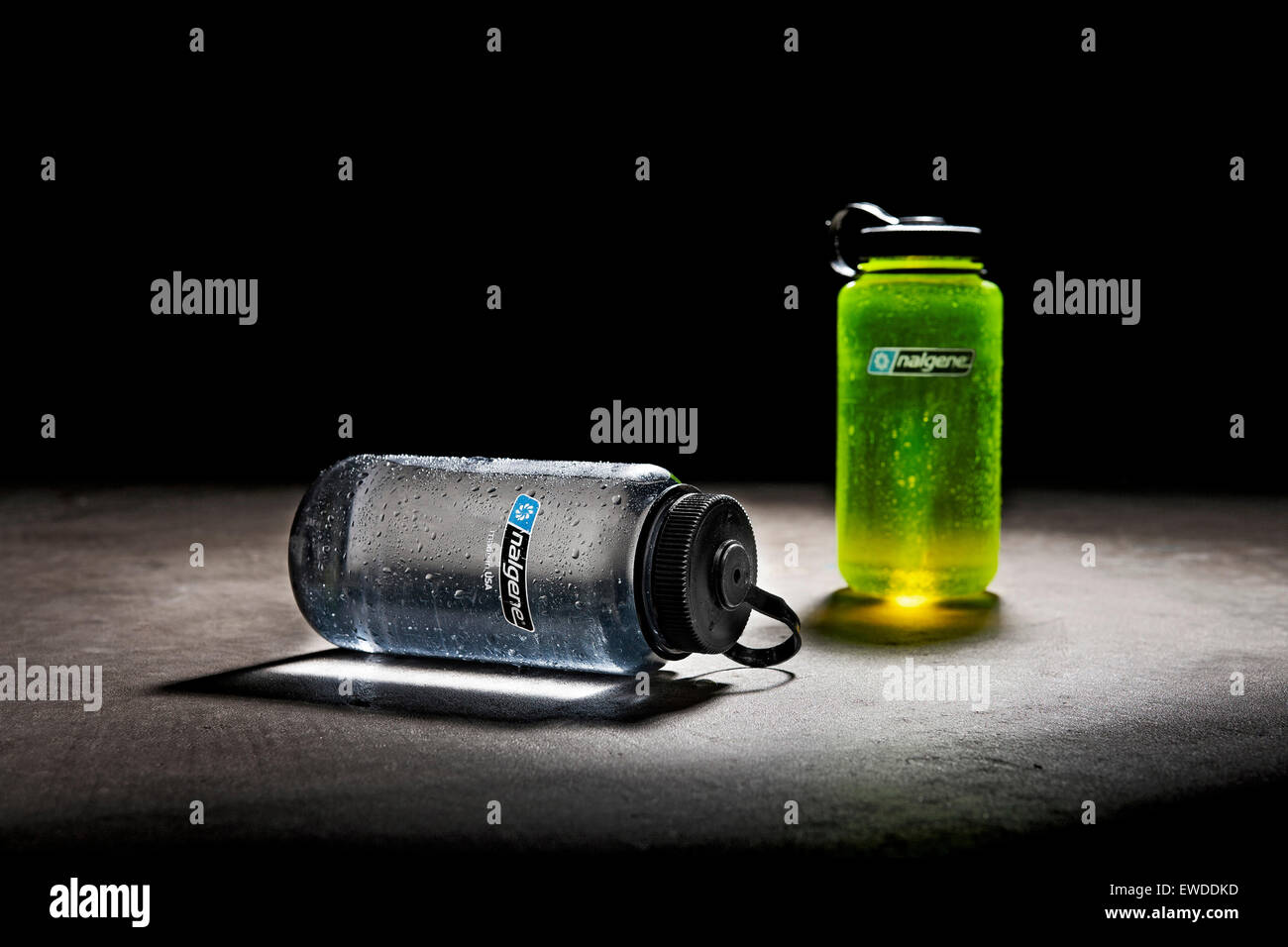 Water bottles - Stock Image