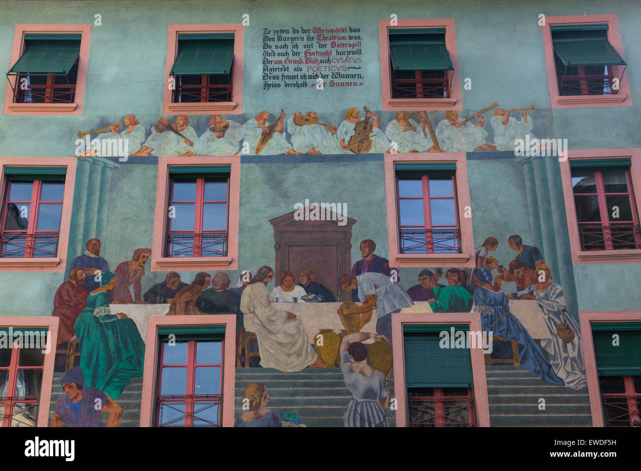 Last Supper Mural Stock Photos Last Supper Mural Stock Images Alamy