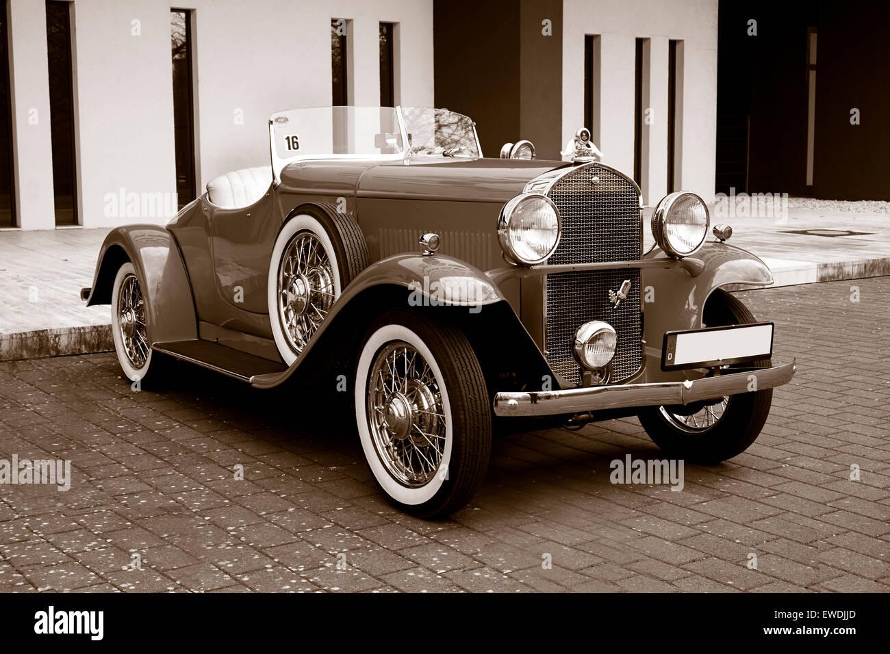 Opel moonlight roadster,1932 - Stock Image