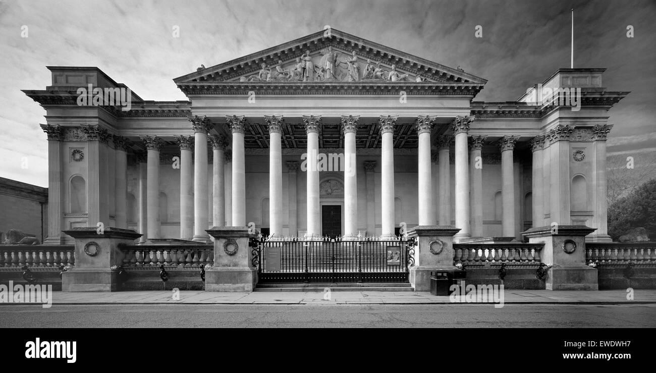 Fitzwilliam Museum Trumpington Street Cambridge Stock Photo