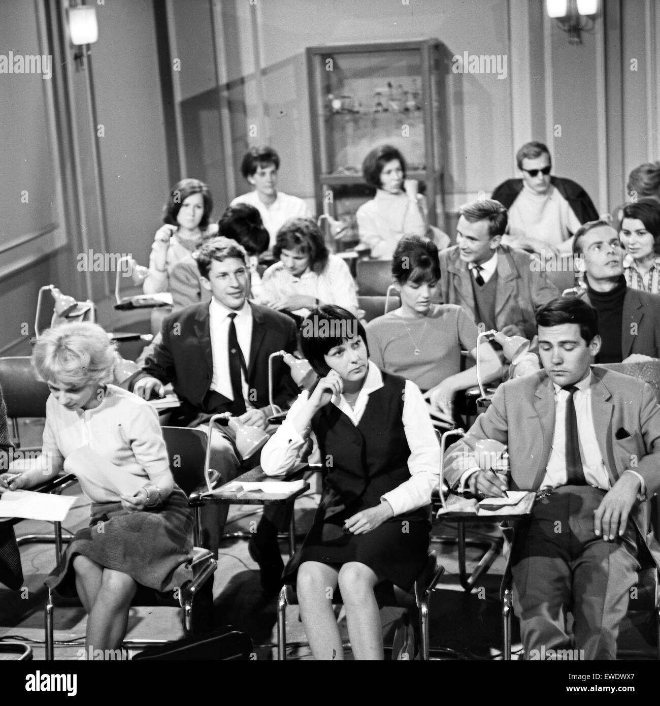 Schule für Eheleute, Fernsehfilm, Deutschland 1965, Regie: Ruprecht Essberger, Szenenfoto - Stock Image