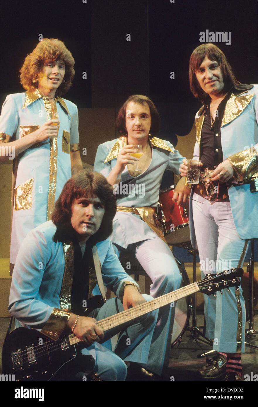 MUD  UK glam rock group about 1974 - Stock Image