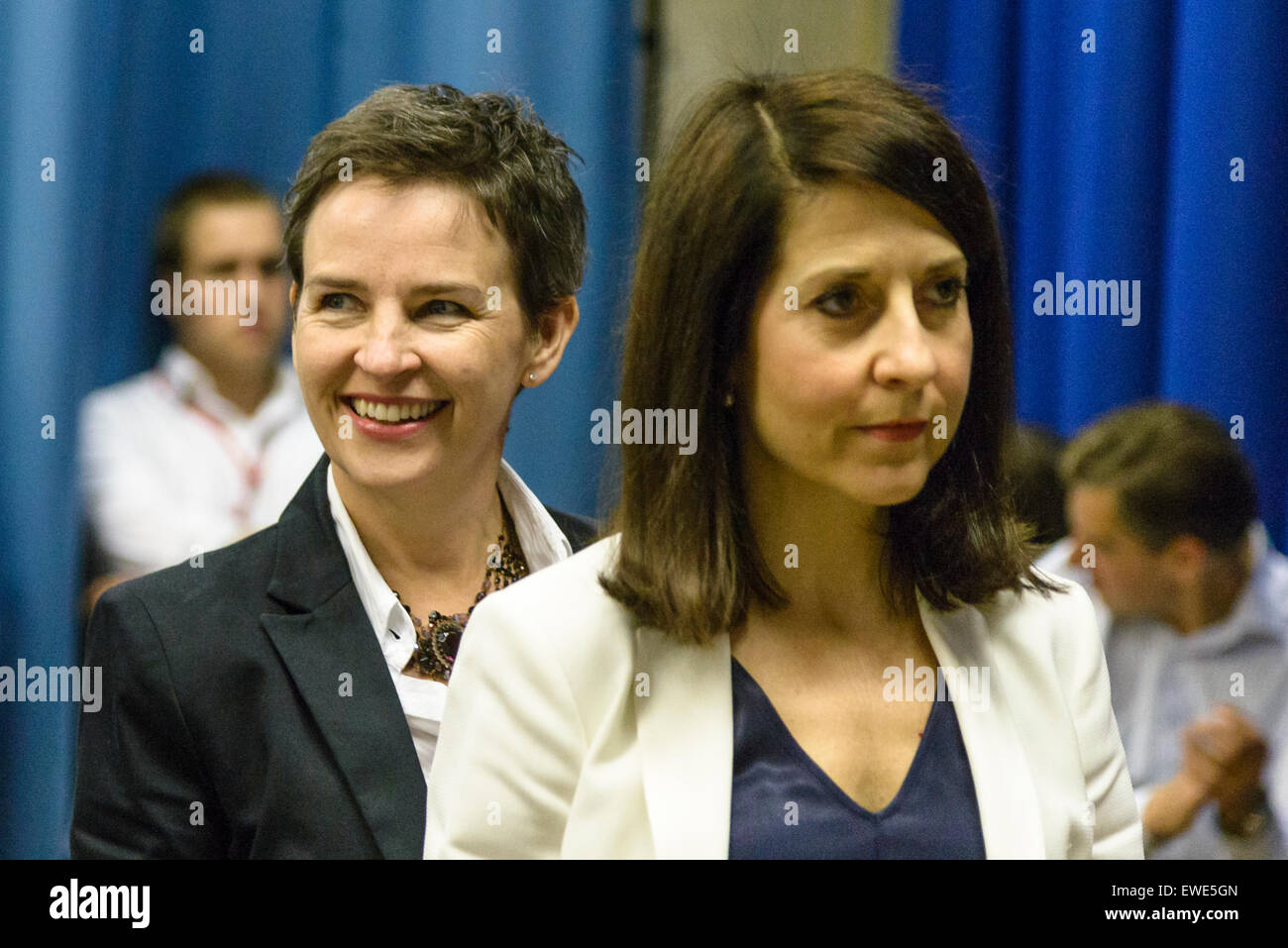 Labour Leadership debate at the Fabian Summer Conference 2015 on 06/06/2015 at UCL Institute of Education, London. - Stock Image