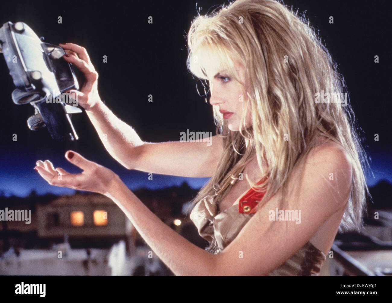 daryl hannah, attack of the 50 foot woman - Stock Image