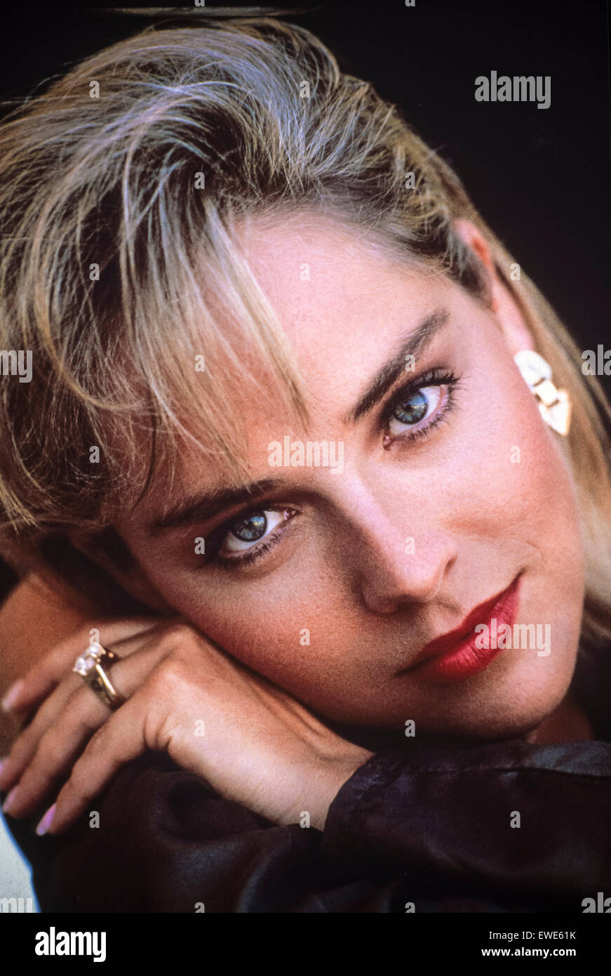 Sharon Stone'action jackson - Stock Image