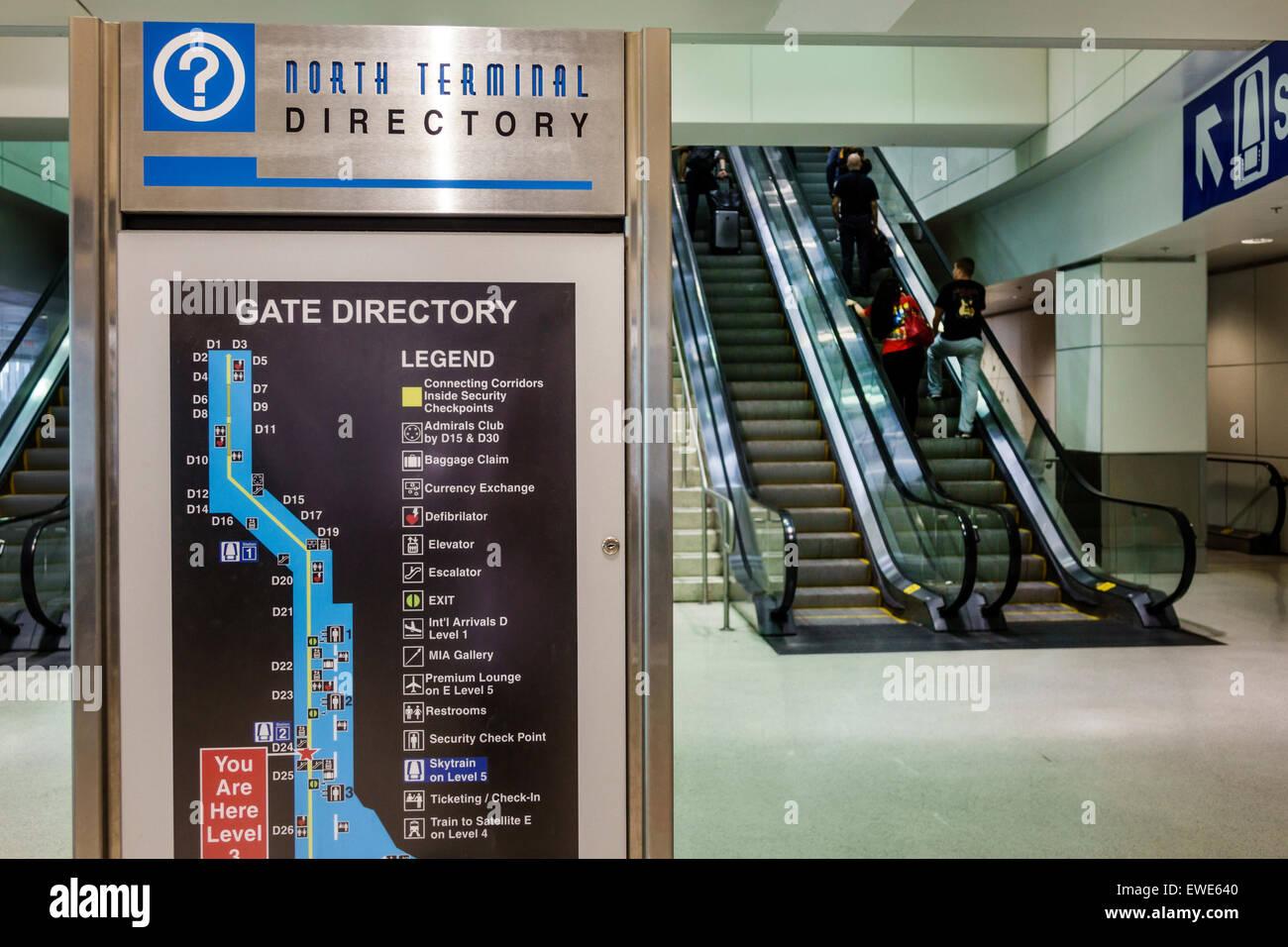 miami florida international airport mia inside terminal