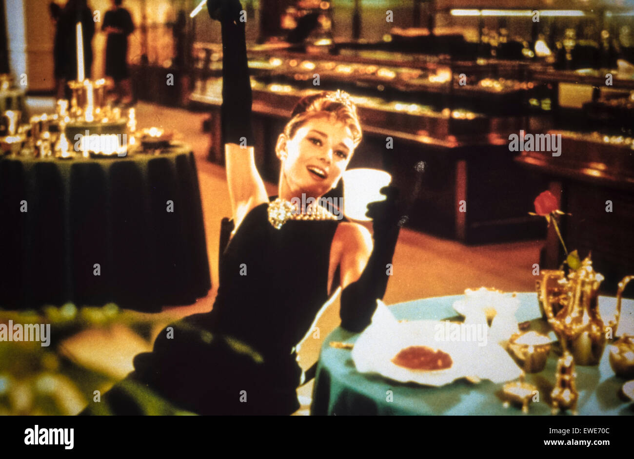 breakfast at tiffany's - Stock Image