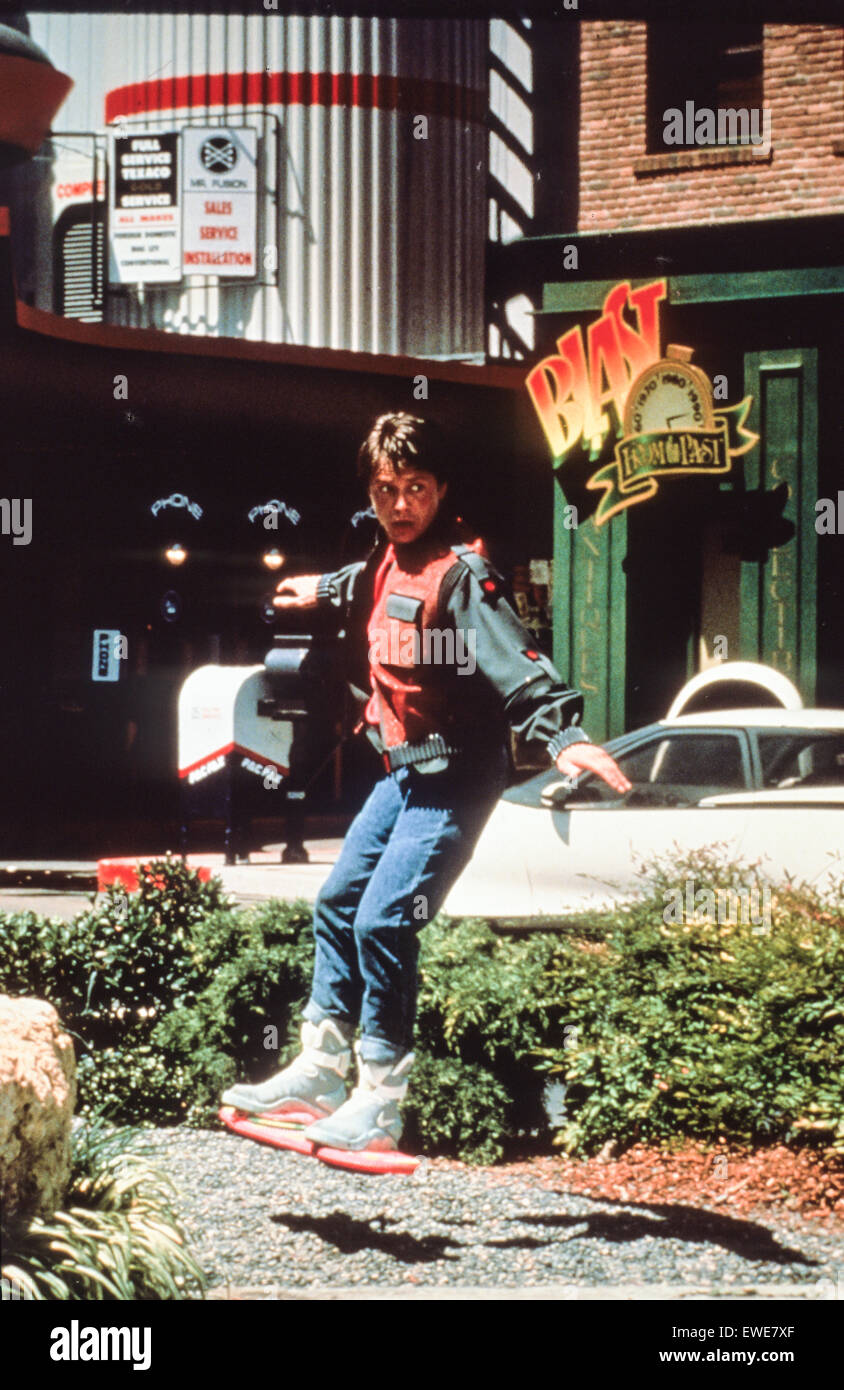 Back to the Future Part II - Stock Image