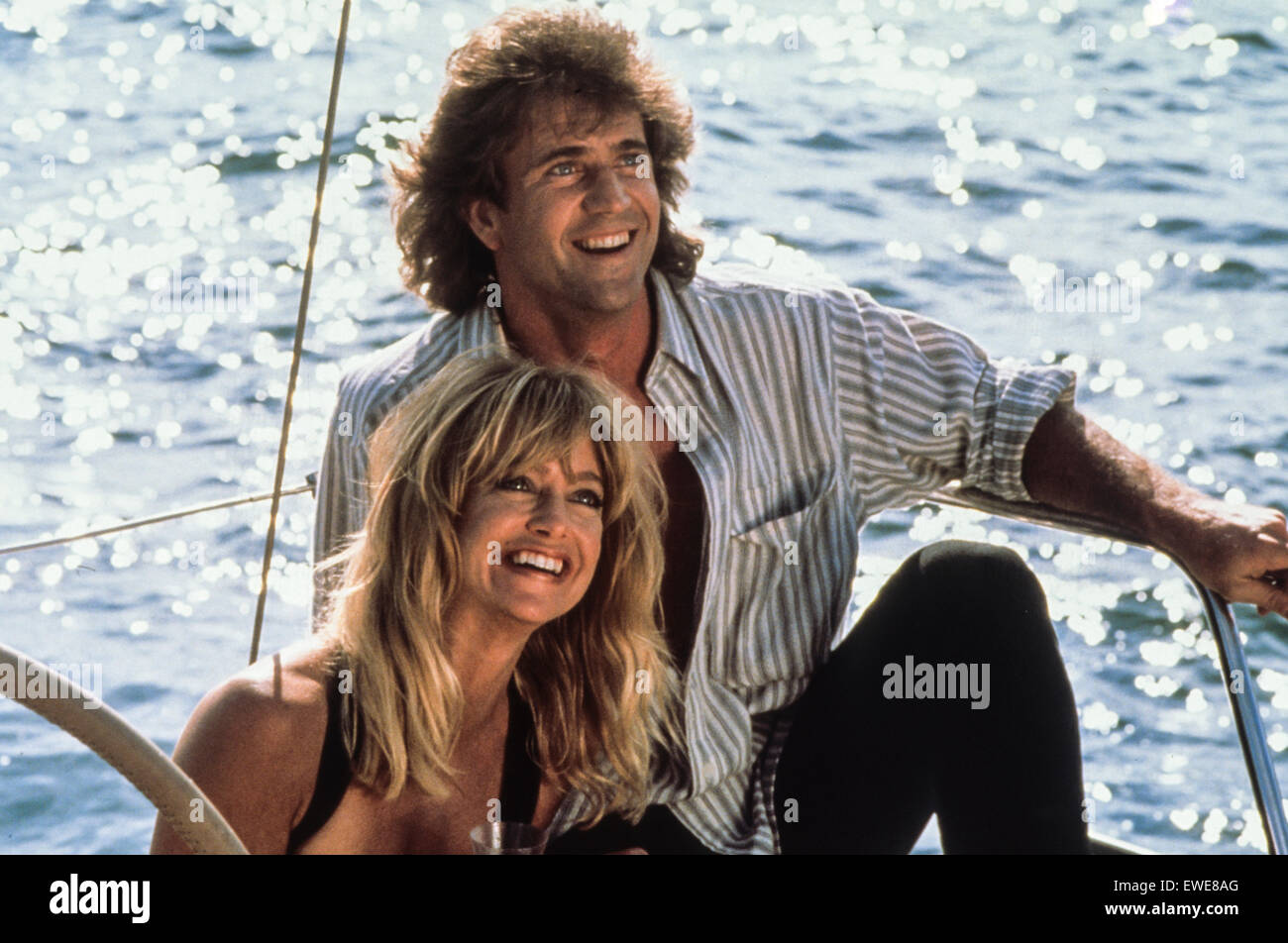 Mel Gibson, Goldie Hawn, bird on a wire, 1990 - Stock Image