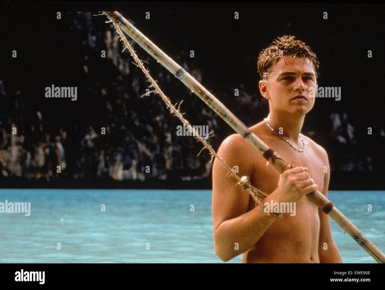 leonardo di caprio, The Beach, 2000 - Stock Image