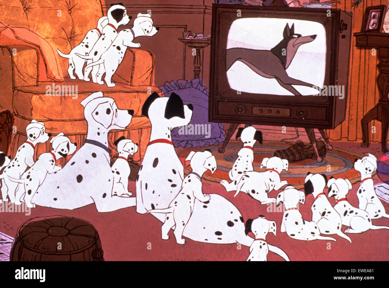 One Hundred and One Dalmatians - Stock Image