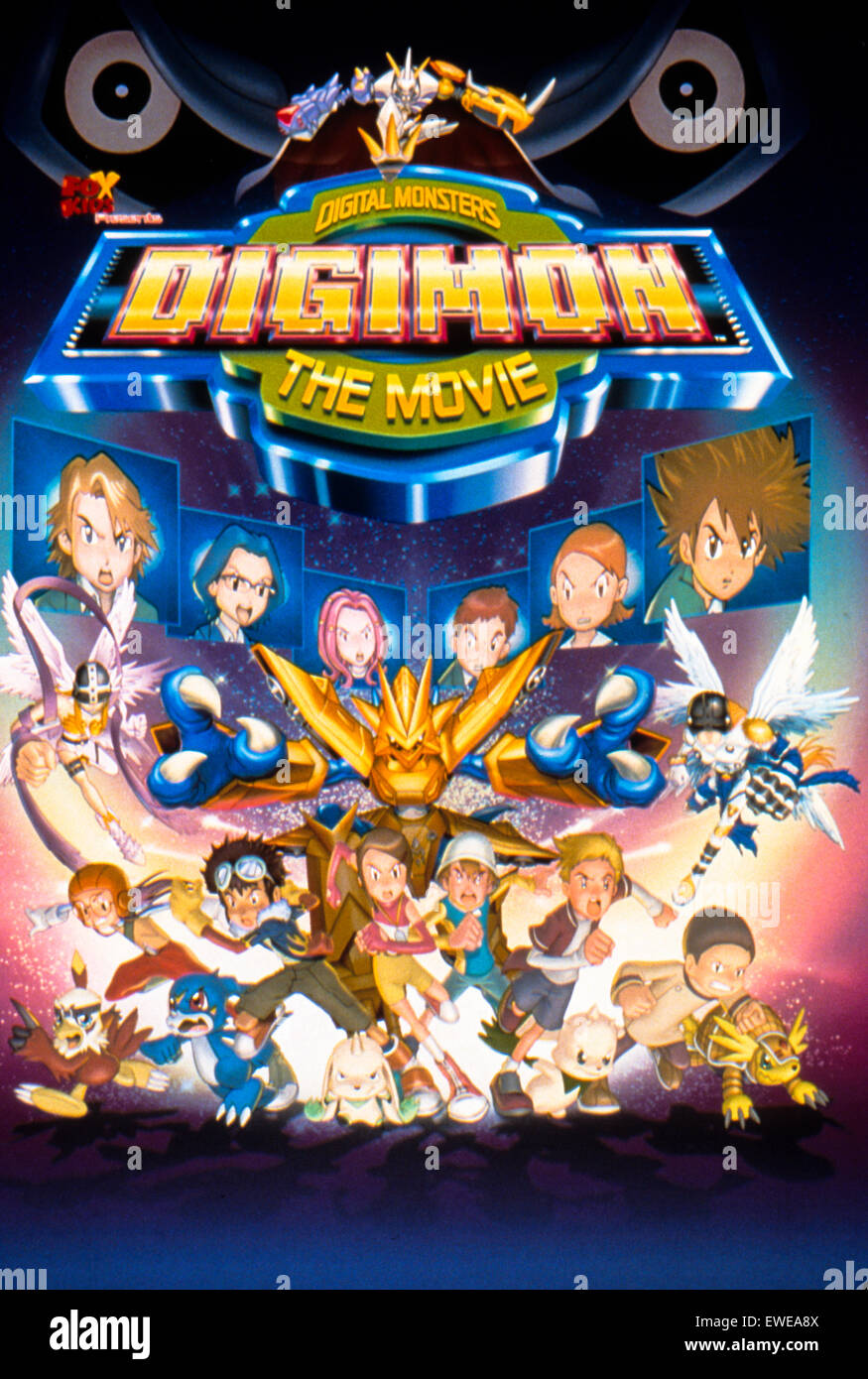 digimon the movie - Stock Image