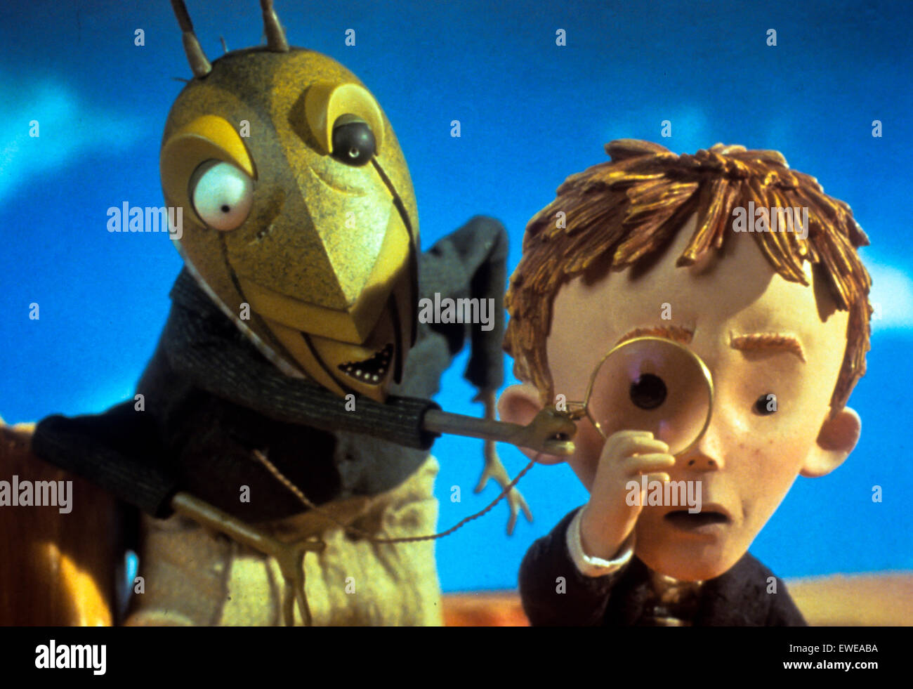 James and the giant peach - Stock Image