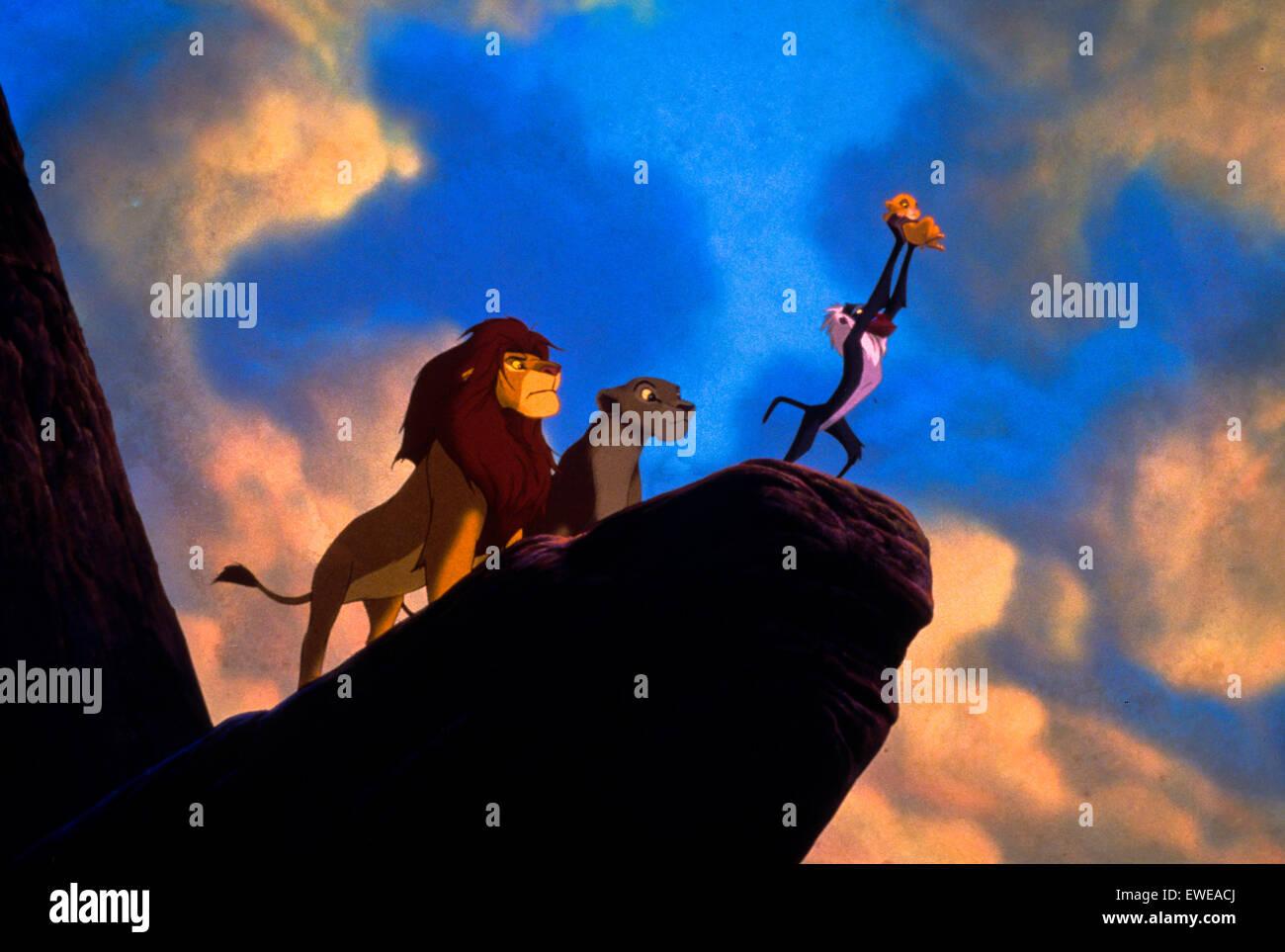 Lion king - Stock Image