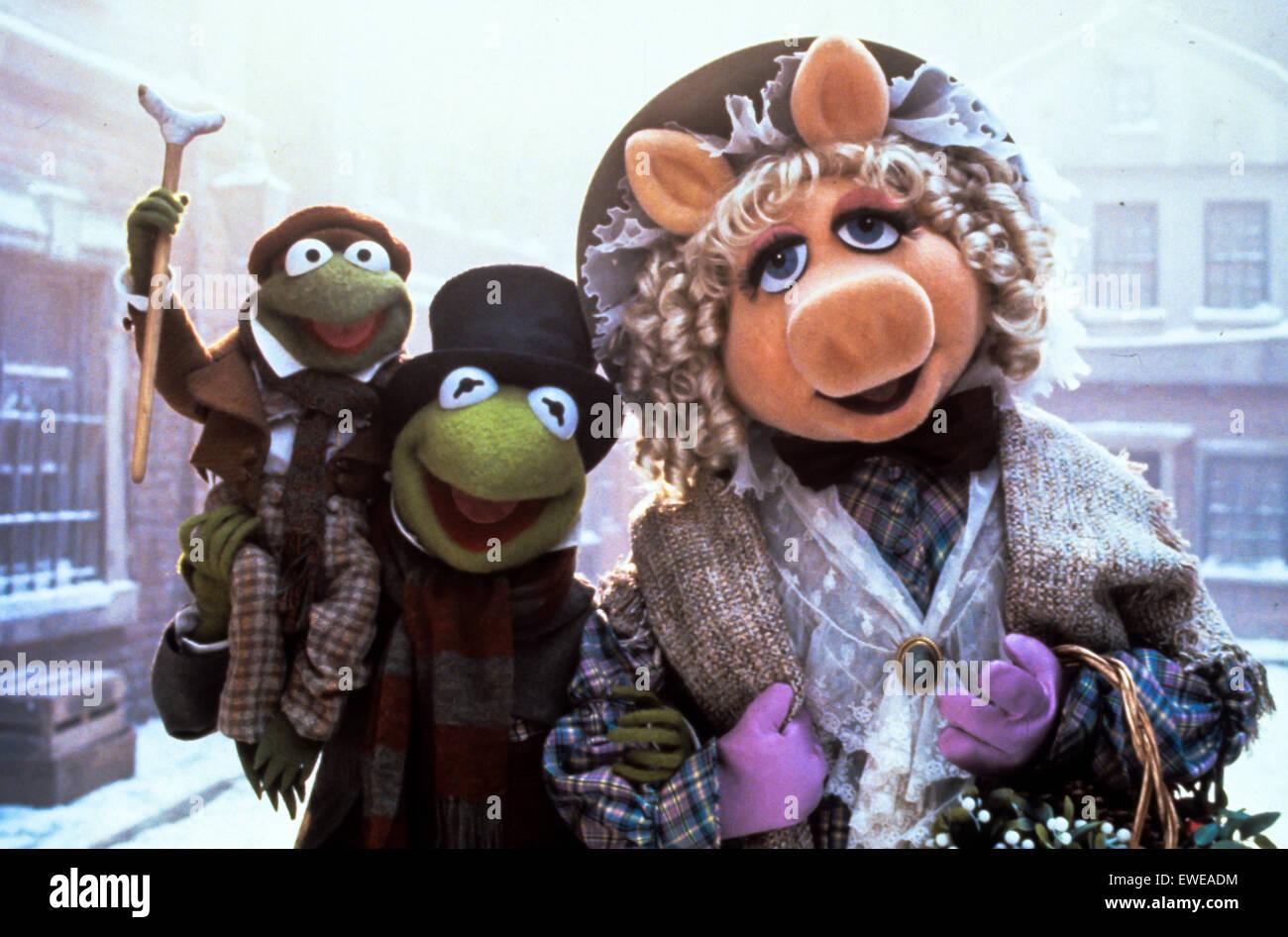 Muppets christmas carol, 1992 - Stock Image