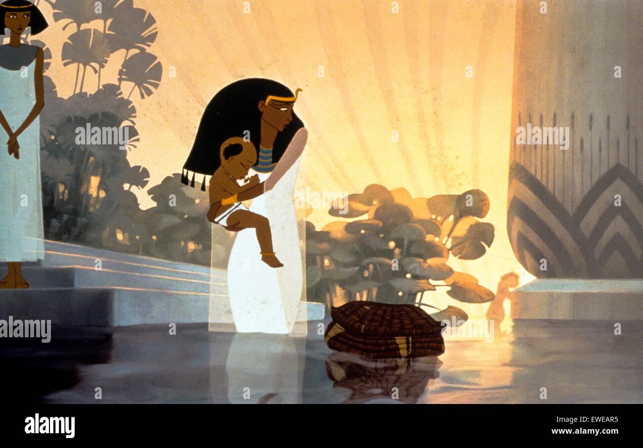 Prince of egypt - Stock Image