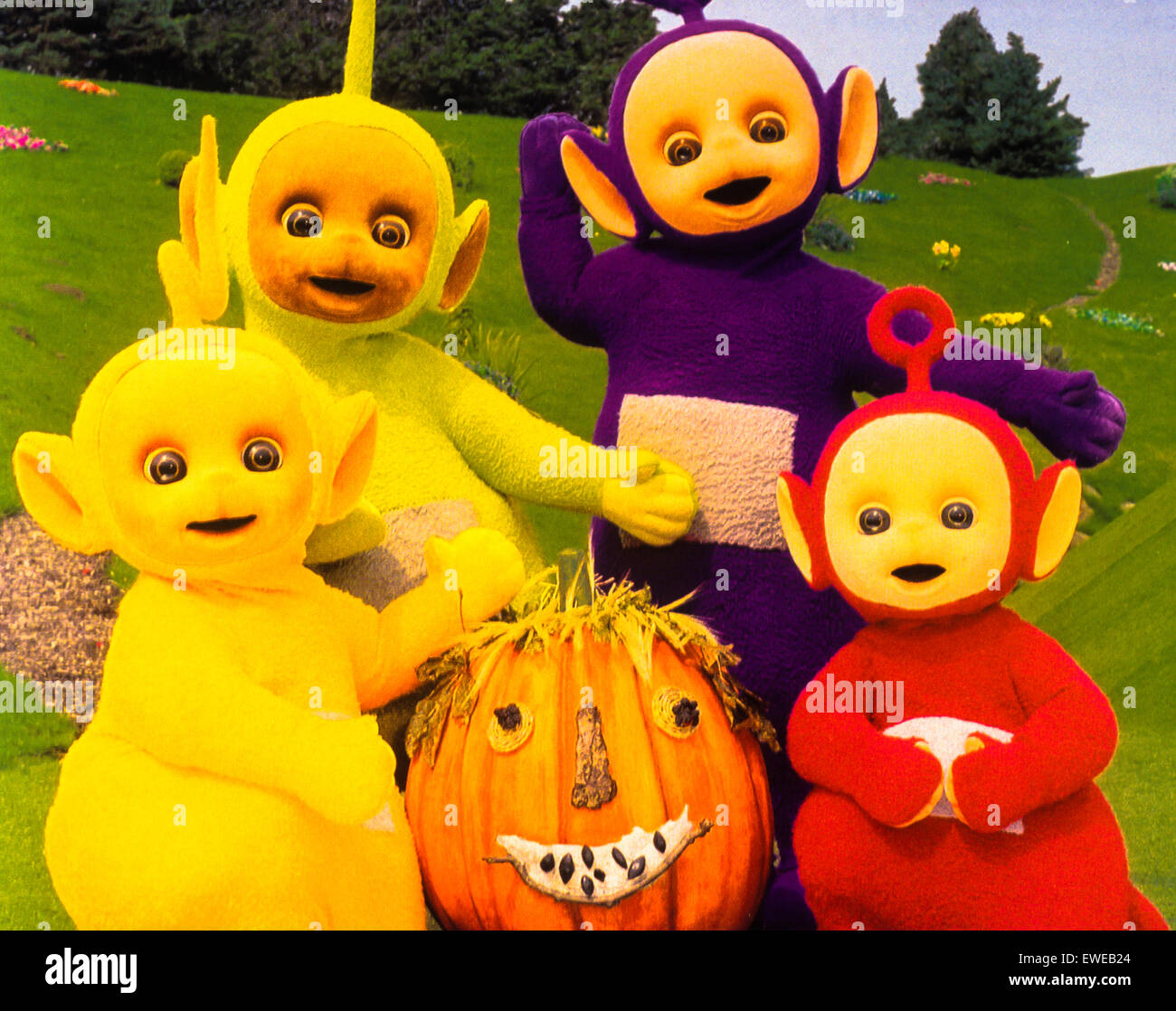 teletubbies stock image