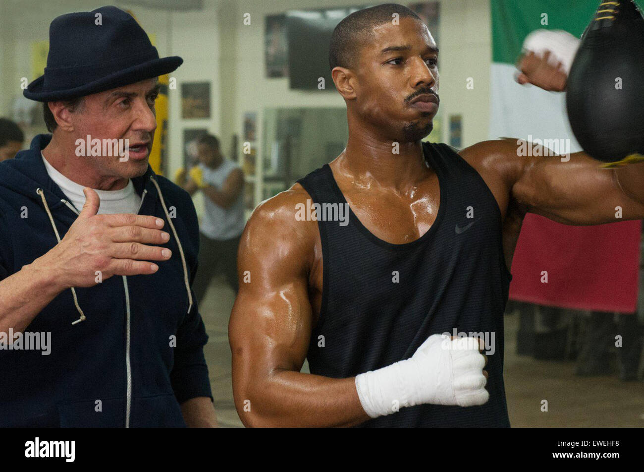 Creed is an upcoming American sports drama film written and directed by Ryan Coogler, co-written by Aaron Covington - Stock Image