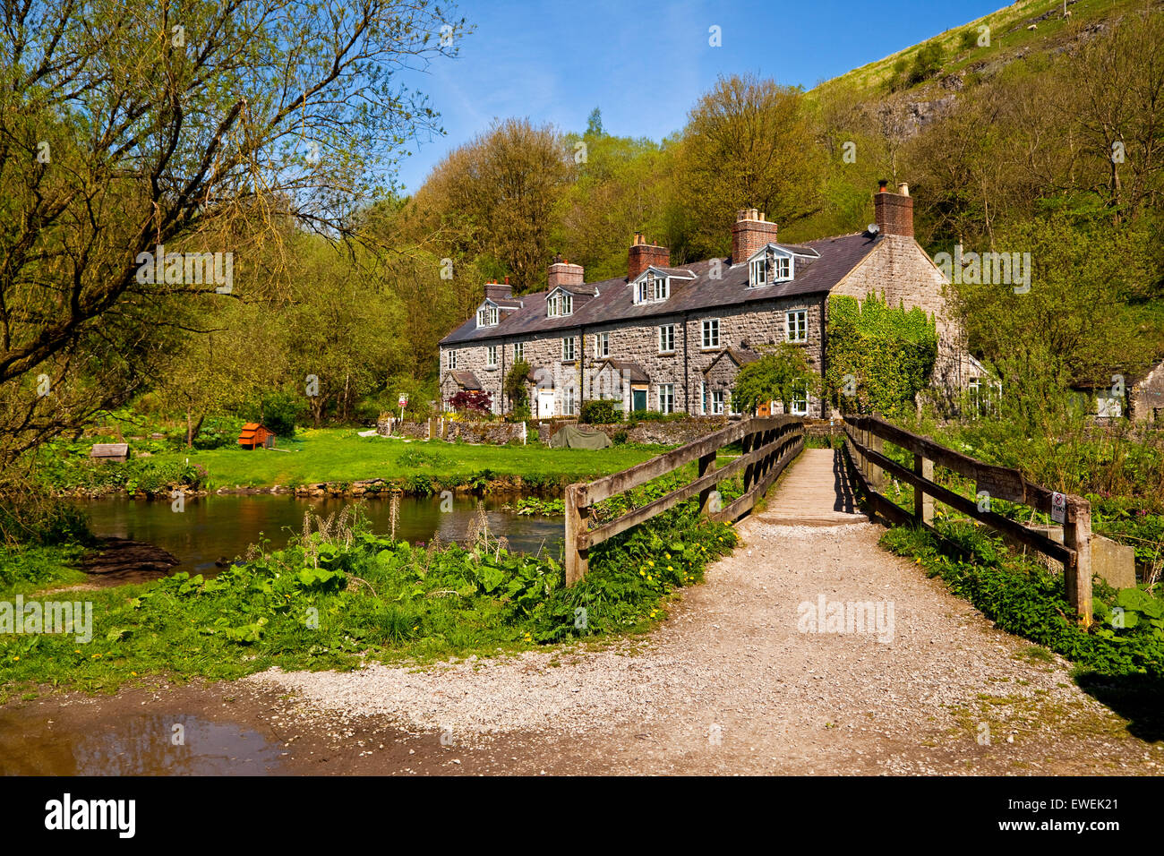 uk peak district cottages alamy stock photo mill blackwell