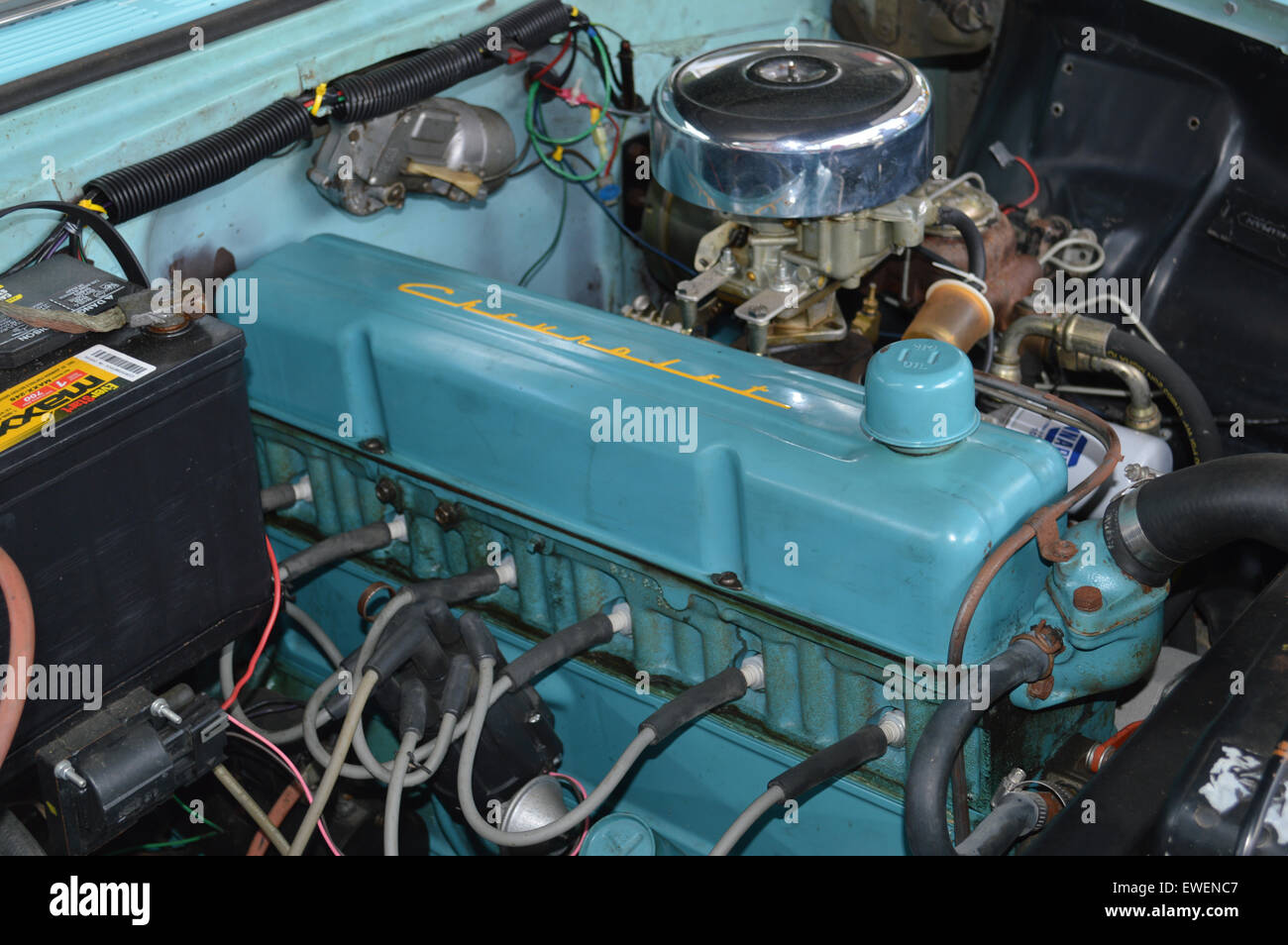 The Chevrolet inline six cylinder engine commonly called the Stock ...