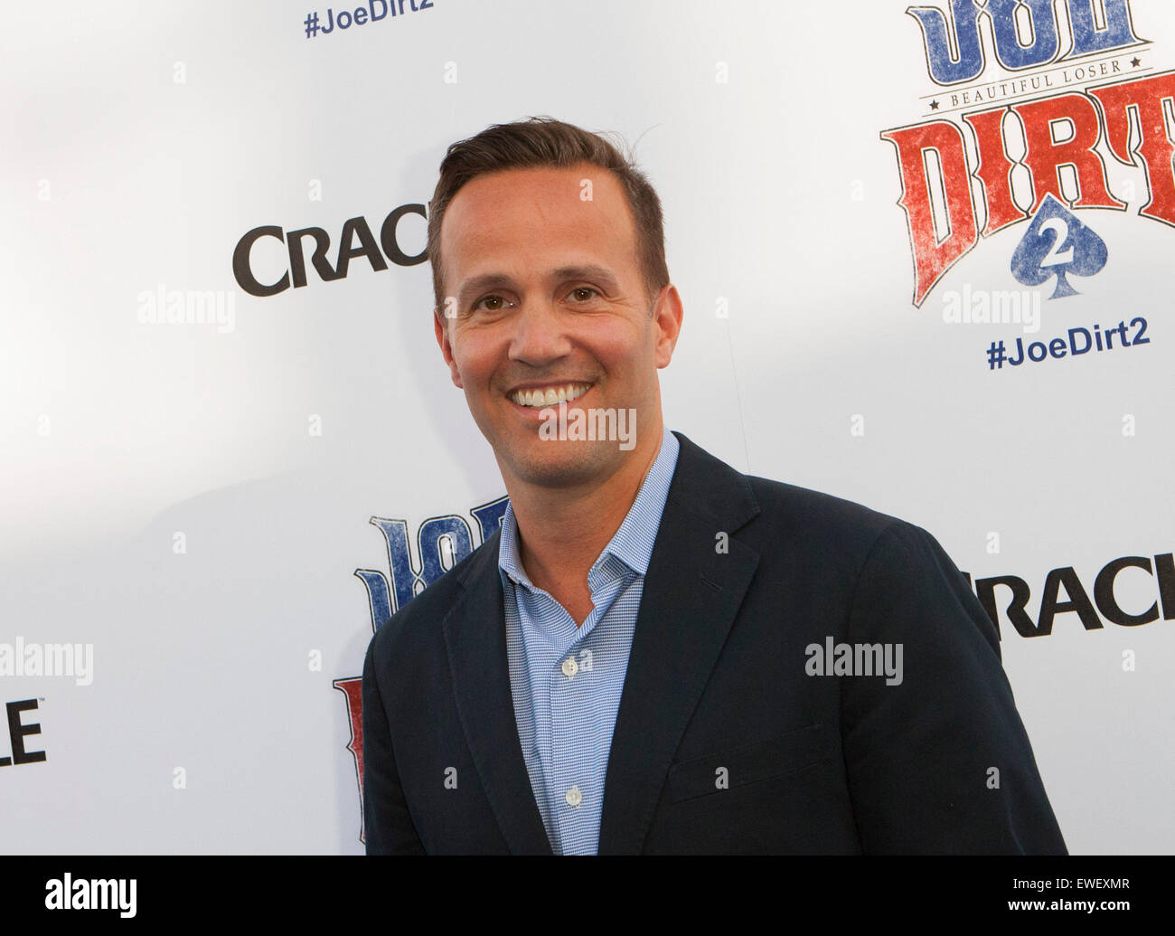 Eric Berger attends Joe Dirt 2: Beautiful Loser Premiere on June 24th-2015  at The Cary Grant Theatre/Sony Pictures Studios, Culver City, California,  USA.