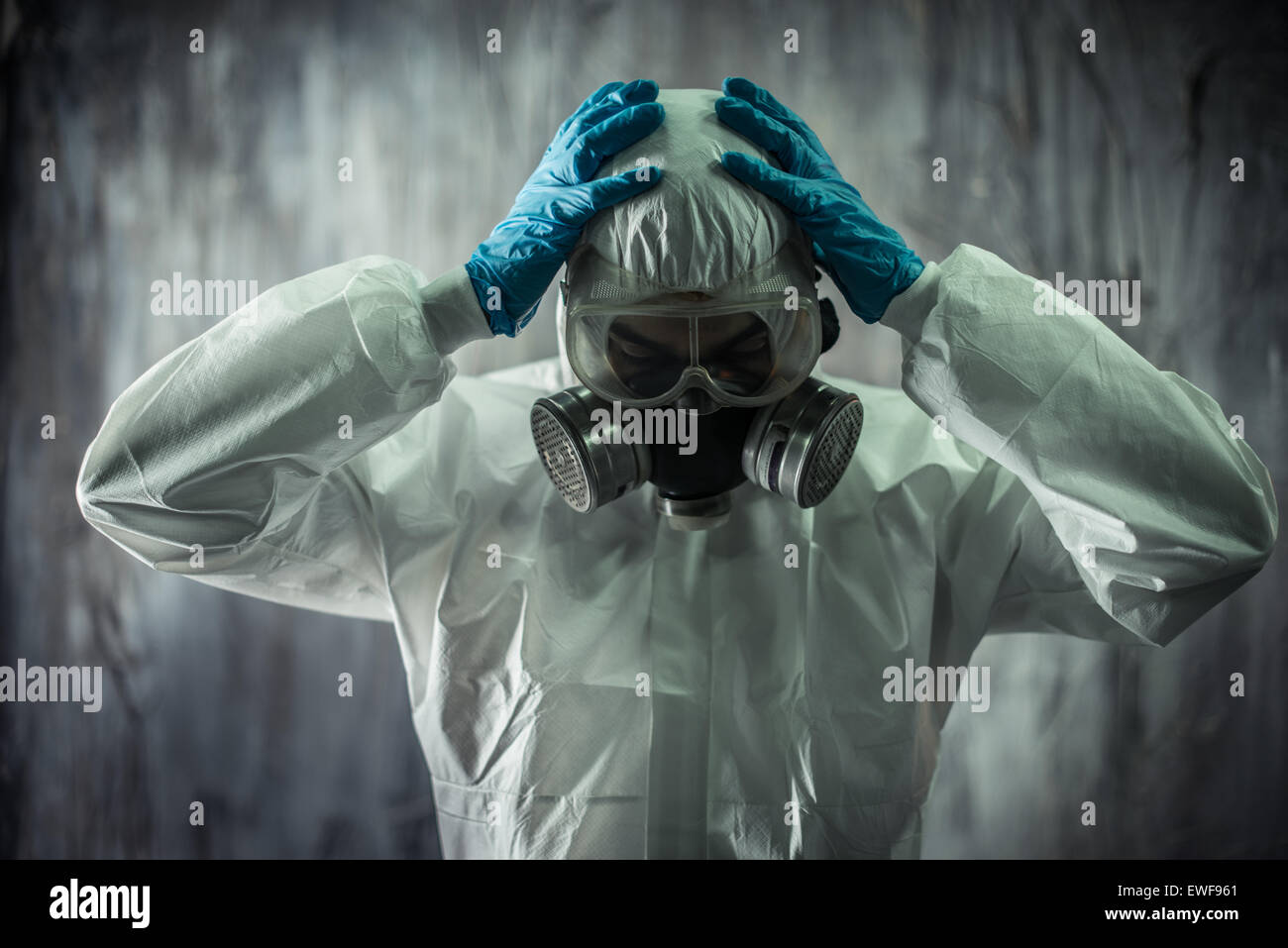 Concept for Virology and diseases Stock Photo