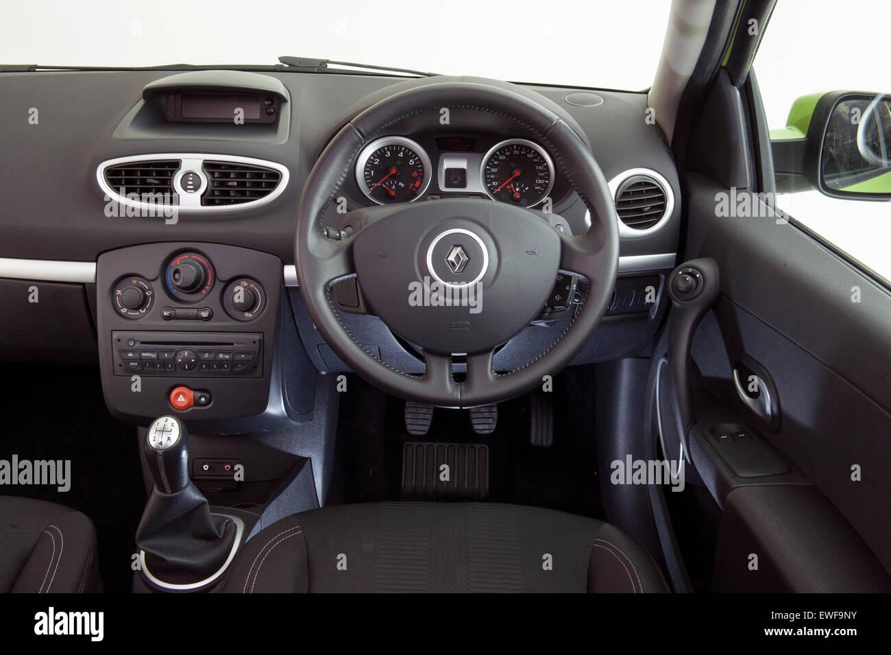 2009 Renault Clio Stock Photo