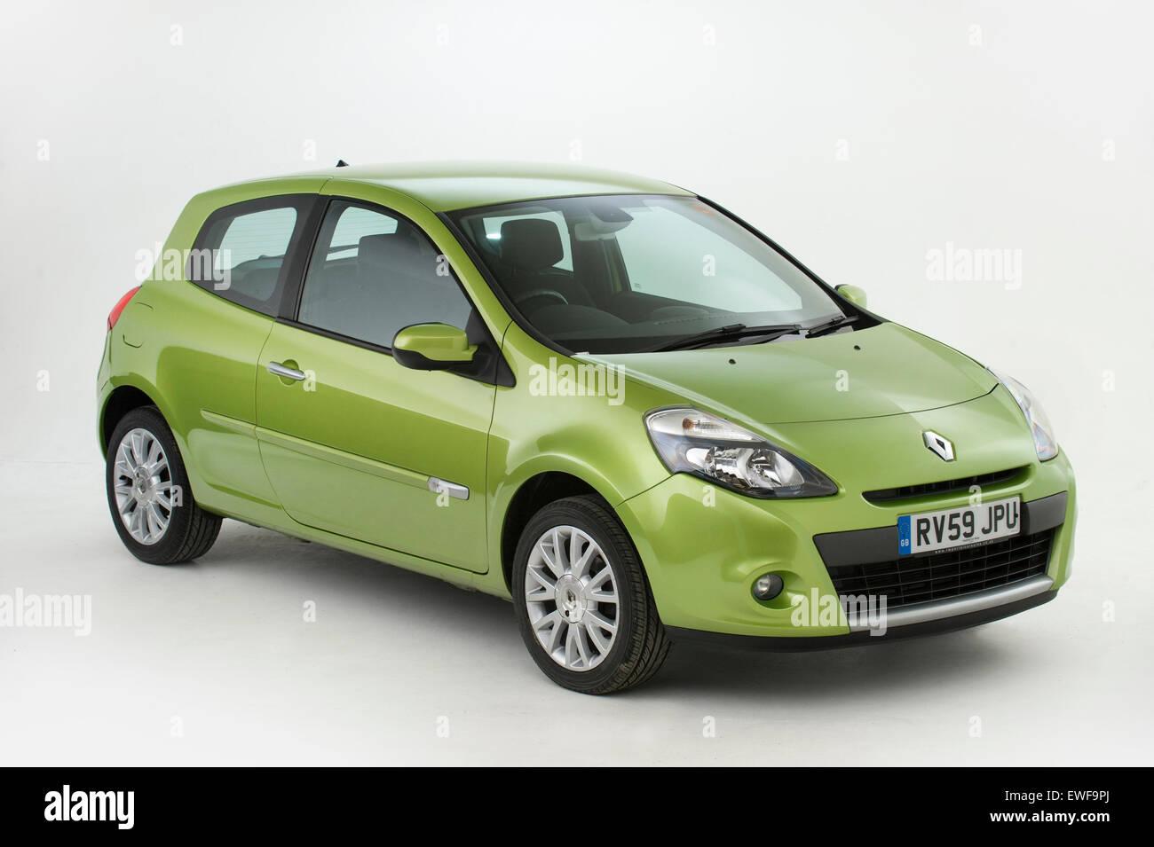 2009 Renault Clio - Stock Image