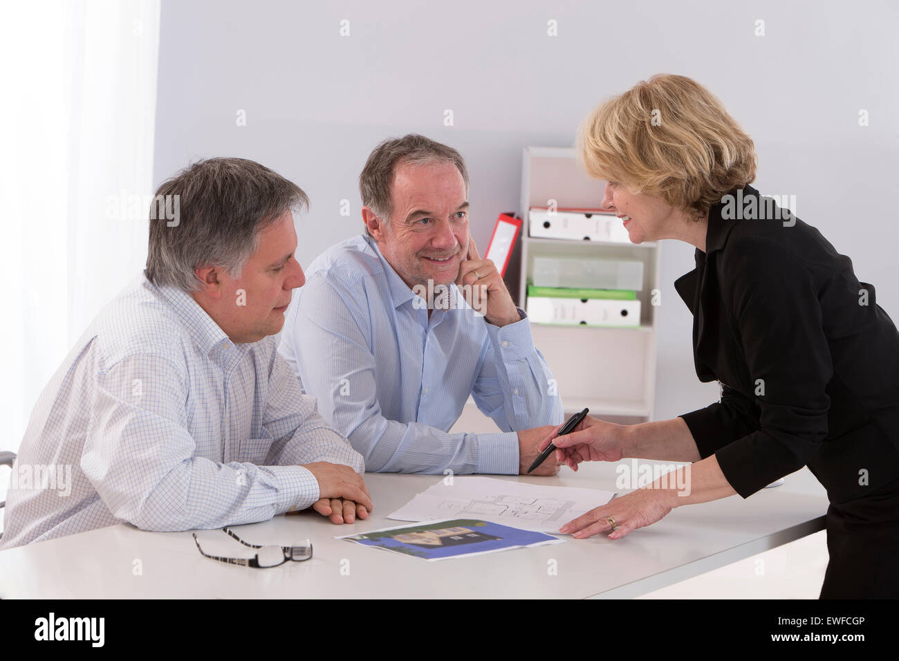 HOUSE PURCHASING - Stock Image