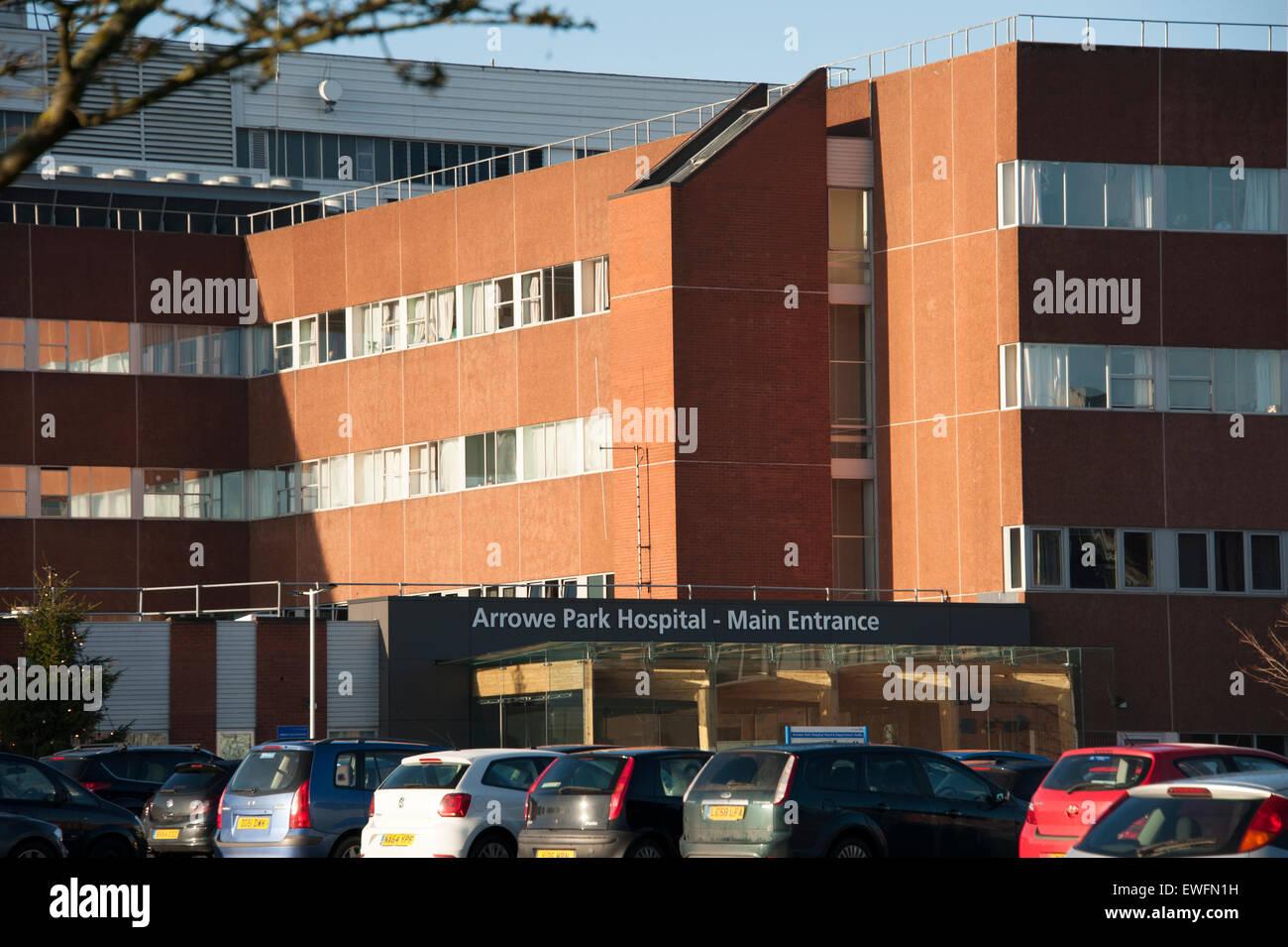 Arrowe Park Hospital Wirral University Teaching NHS - Stock Image