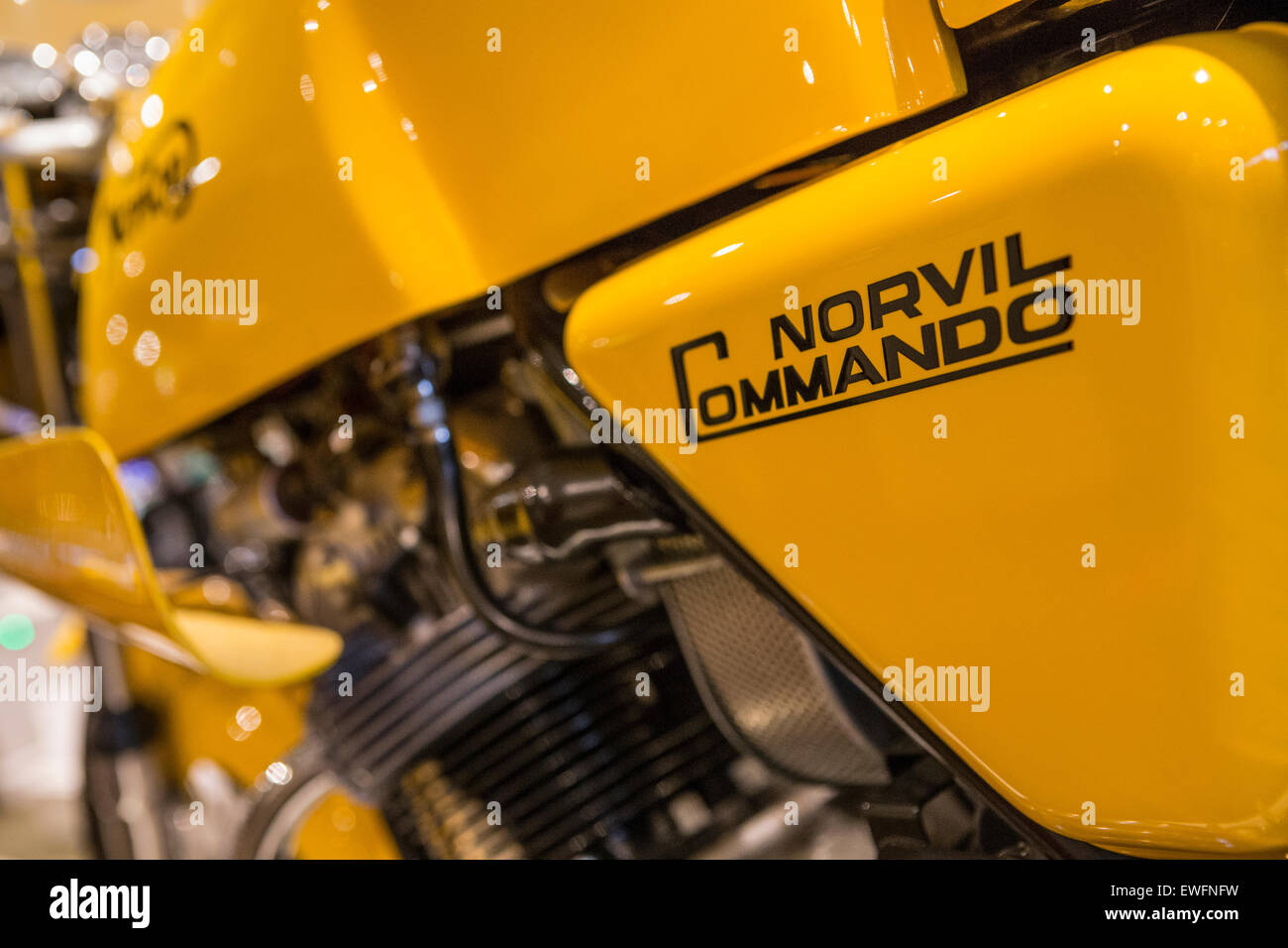 Norton Commando High Resolution Stock Photography And Images Alamy