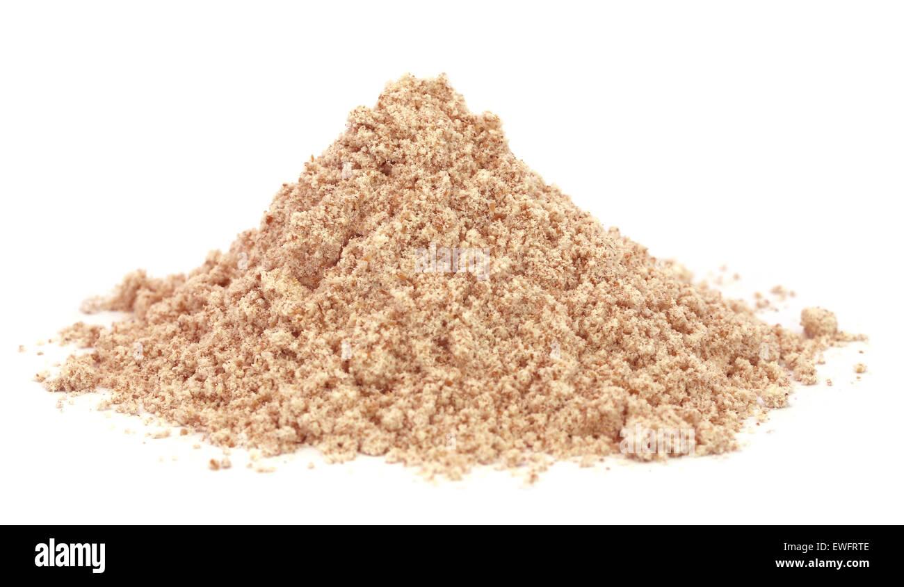 Reddish flour - Stock Image