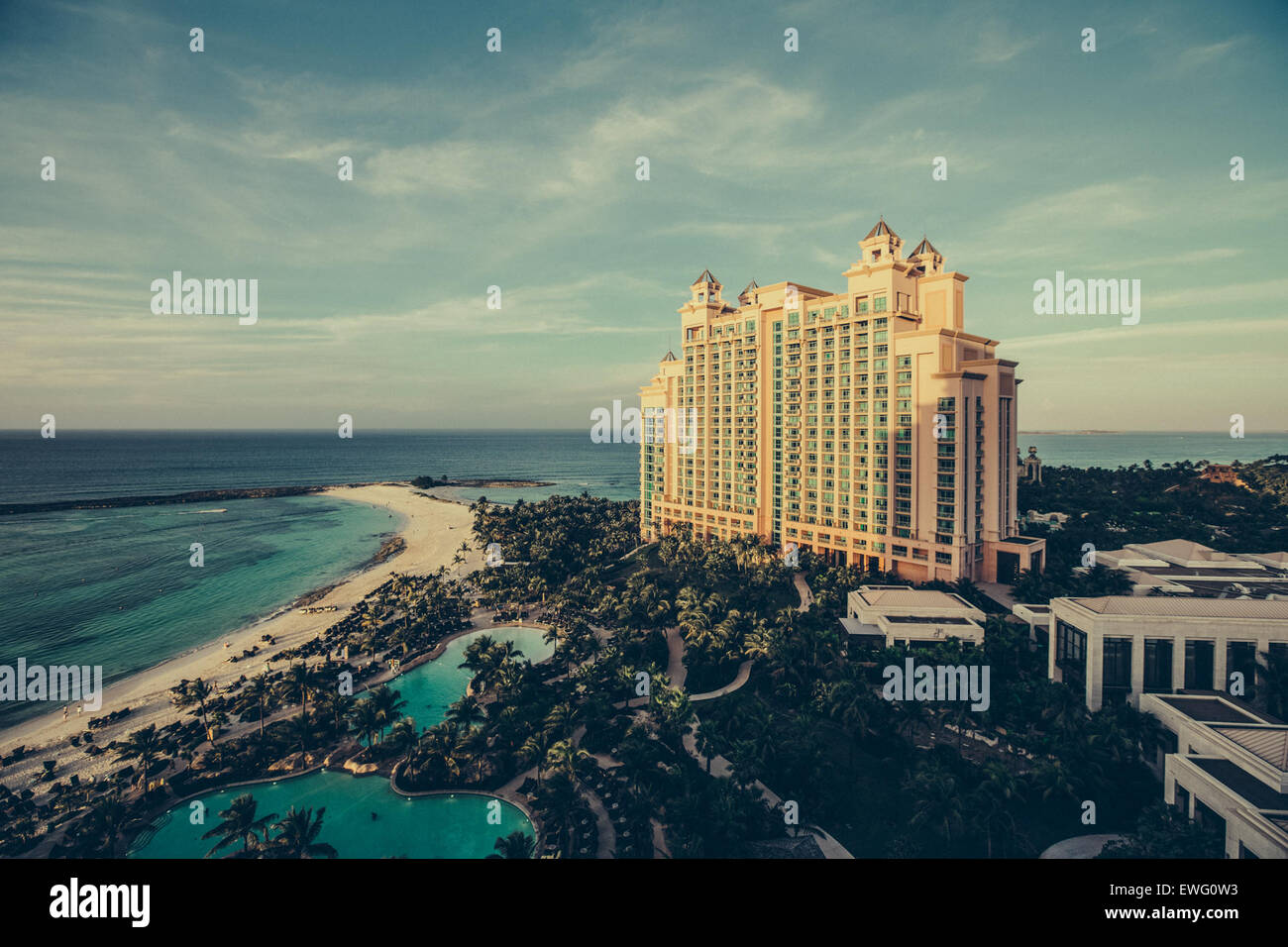 Atlantis Resort on Paradise Island - Stock Image