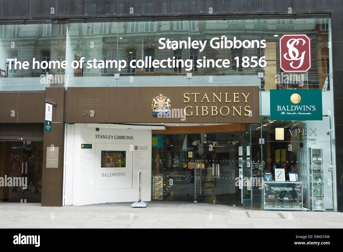 Stanley Gibbons Stamp Shop The Strand London England Uk