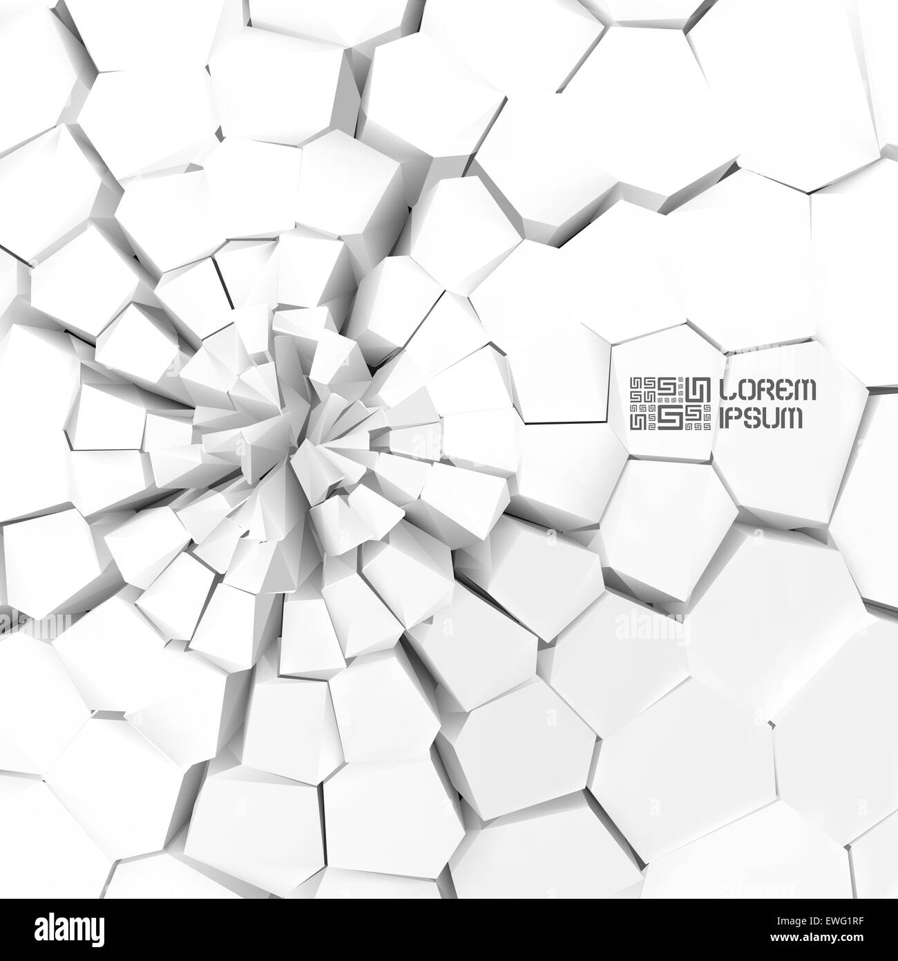 Cracked background. Vector illustration. - Stock Vector