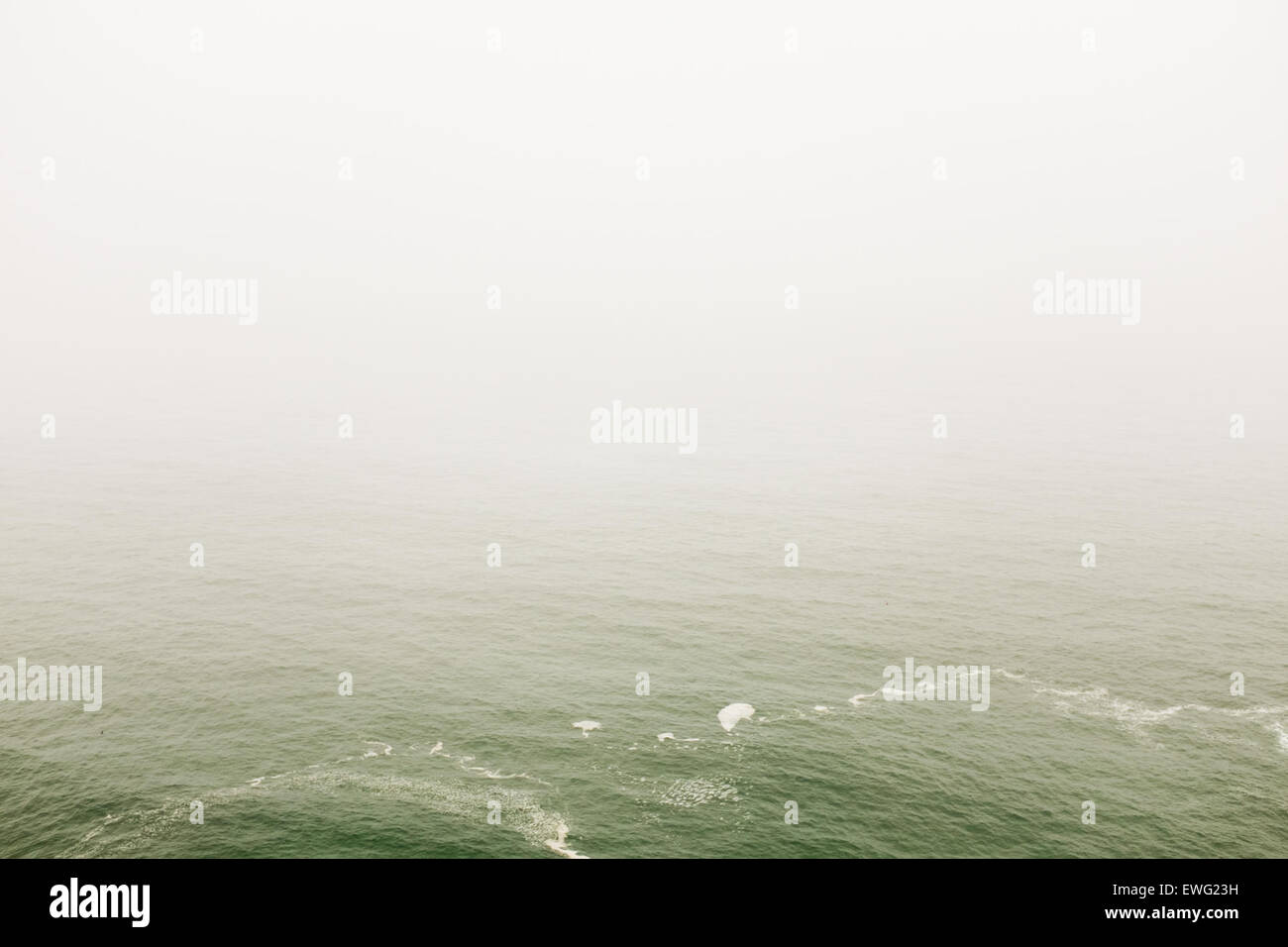 White Ocean Water Minimalist Water White Background background ocean outdoor sea waves white - Stock Image