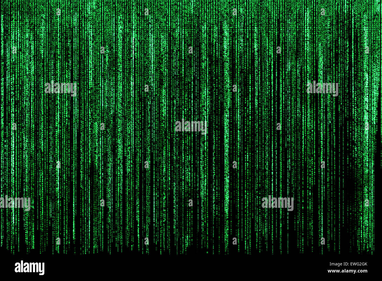 Matrix background - Stock Image