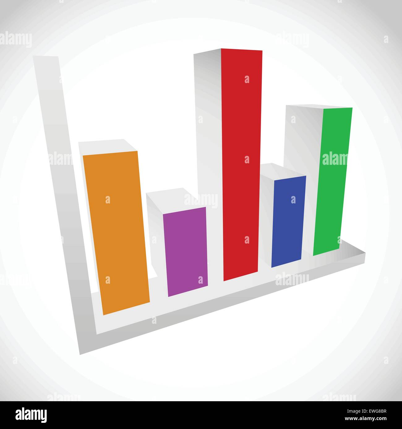 3d bar chart bar graph diagram element stock vector art 3d bar chart bar graph diagram element ccuart
