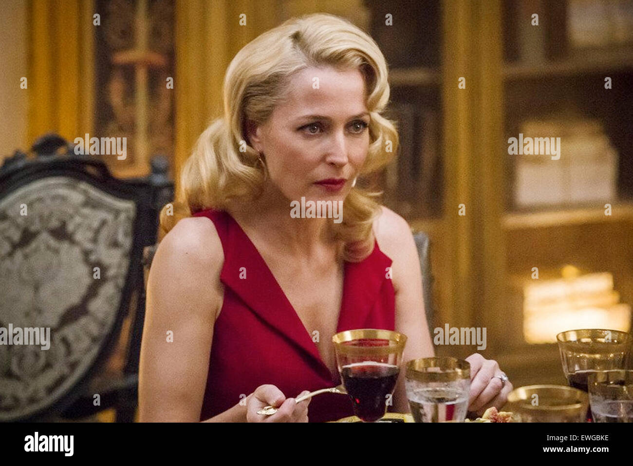 HANNIBAL  NBCUniversal TV series with Gillian Anderson - Stock Image