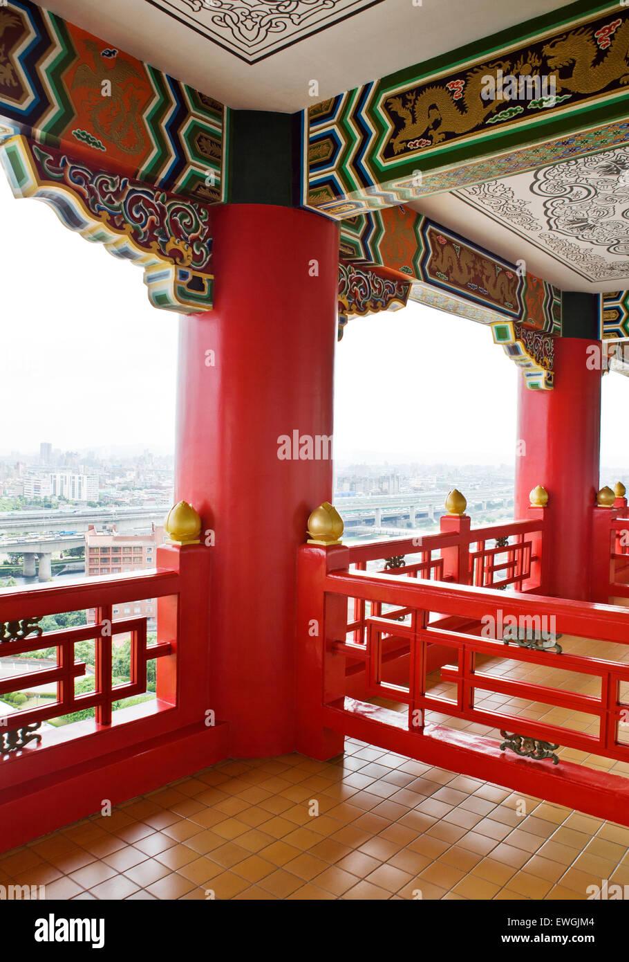The Grand Hotel, Taipei, Taiwan. - Stock Image