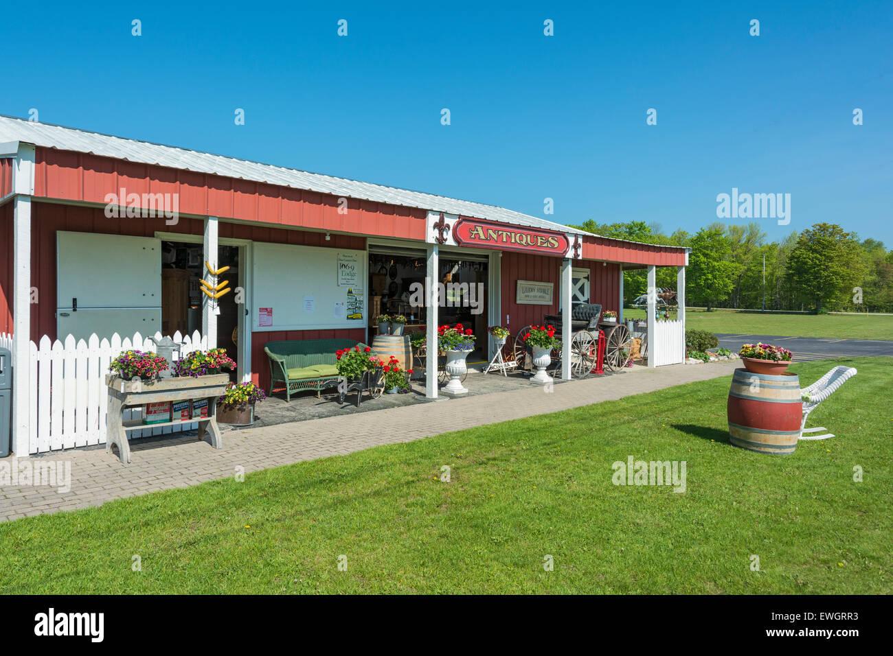 Wisconsin, Door County, Baileys Harbor, Koepsel's Farm Market & Antique  Store - Stock - Door County Stock Photos & Door County Stock Images - Alamy