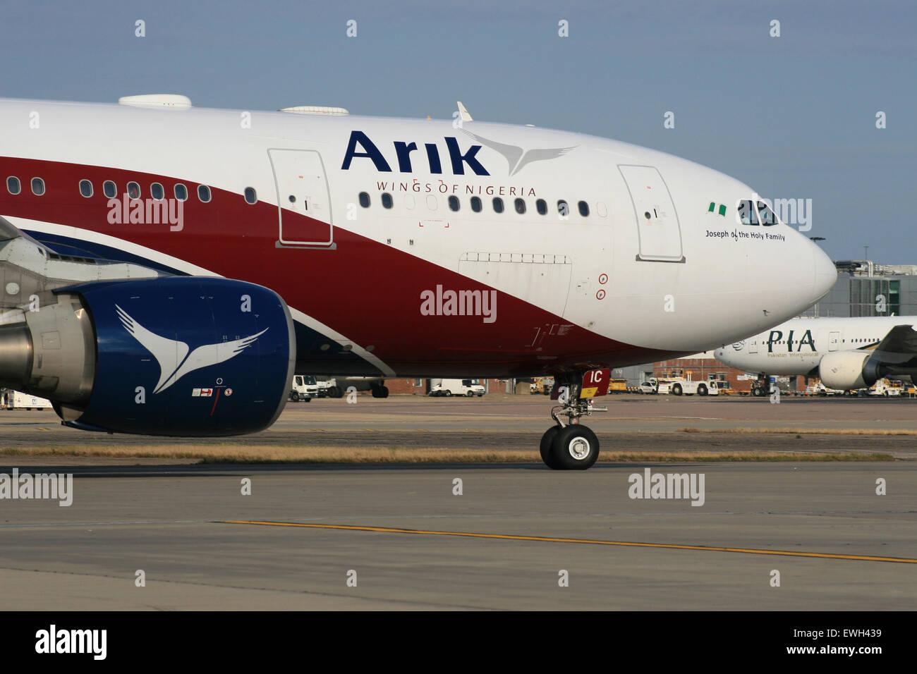 ARIK NIGERIA - Stock Image
