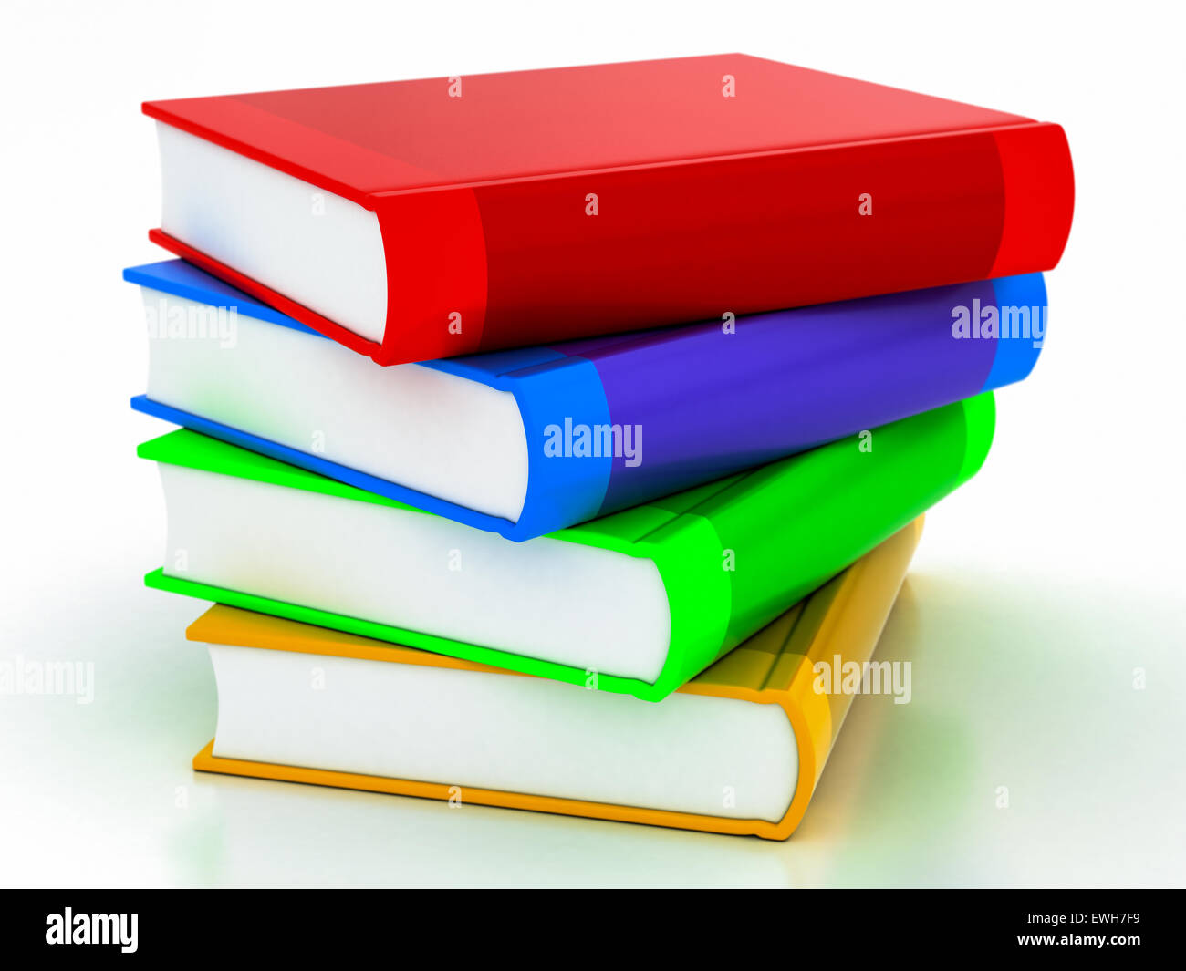 Colored Books Stack Stock Photos & Colored Books Stack Stock Images ...