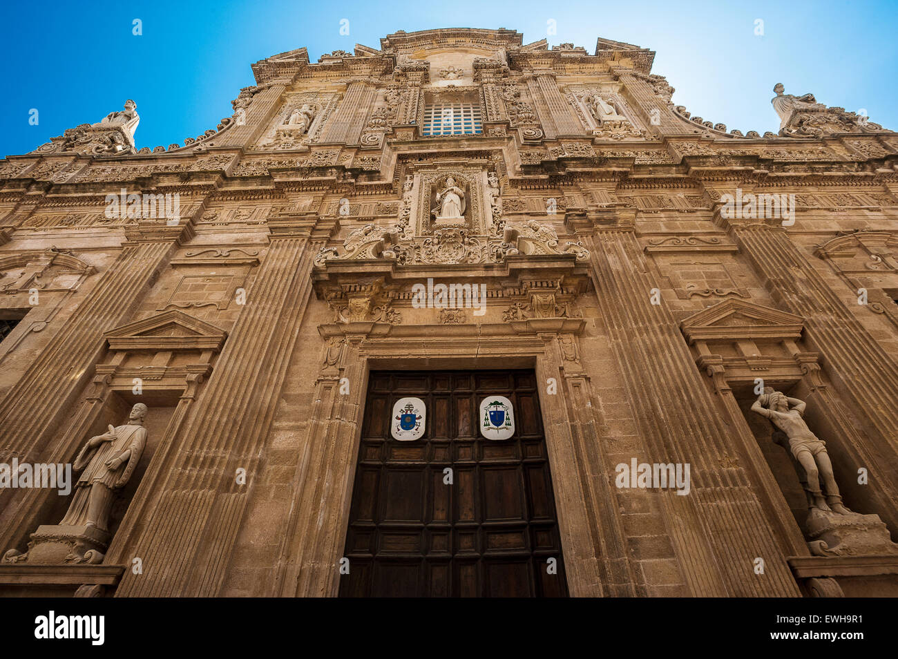 Apulia Salento Gallipoli, Cathedral of S.Agata - Stock Image