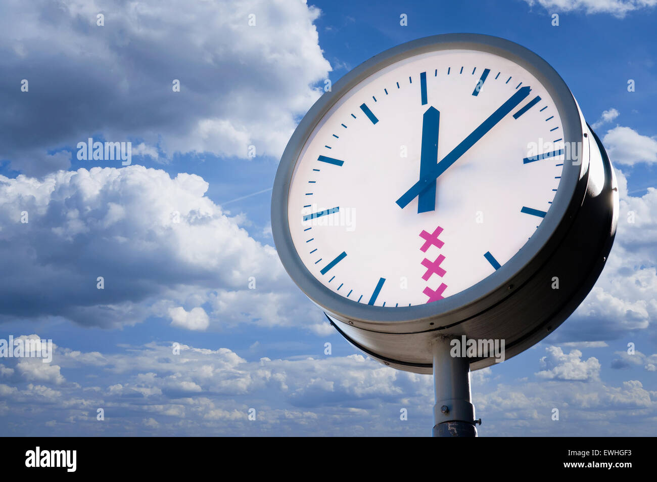 the big clock - Stock Image
