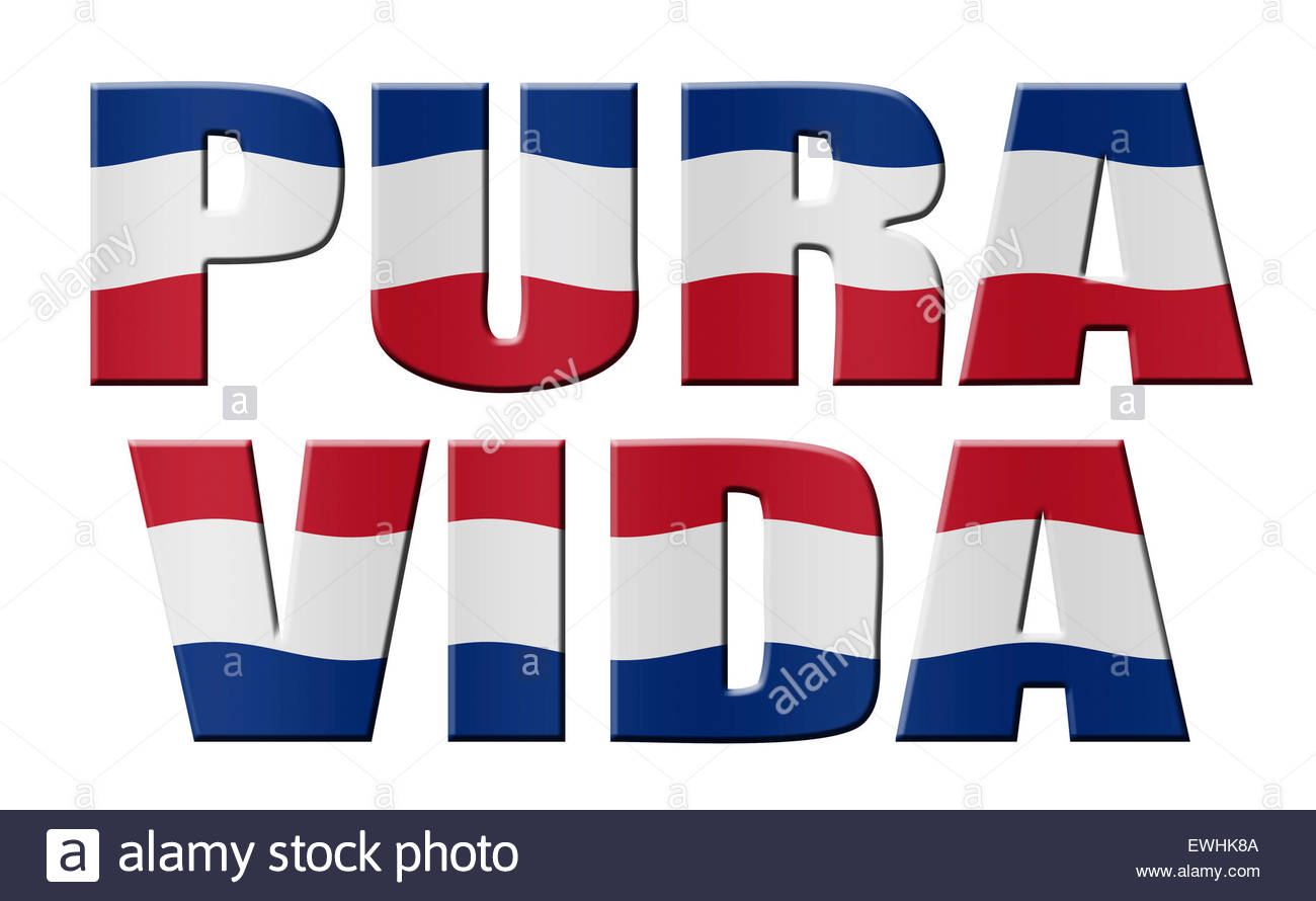 costa rican flag stock photos costa rican flag stock images alamy