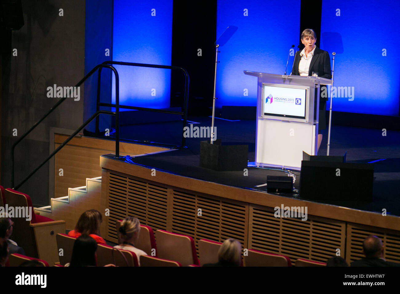 Terrie Alafat , CEO of CIH. - Stock Image