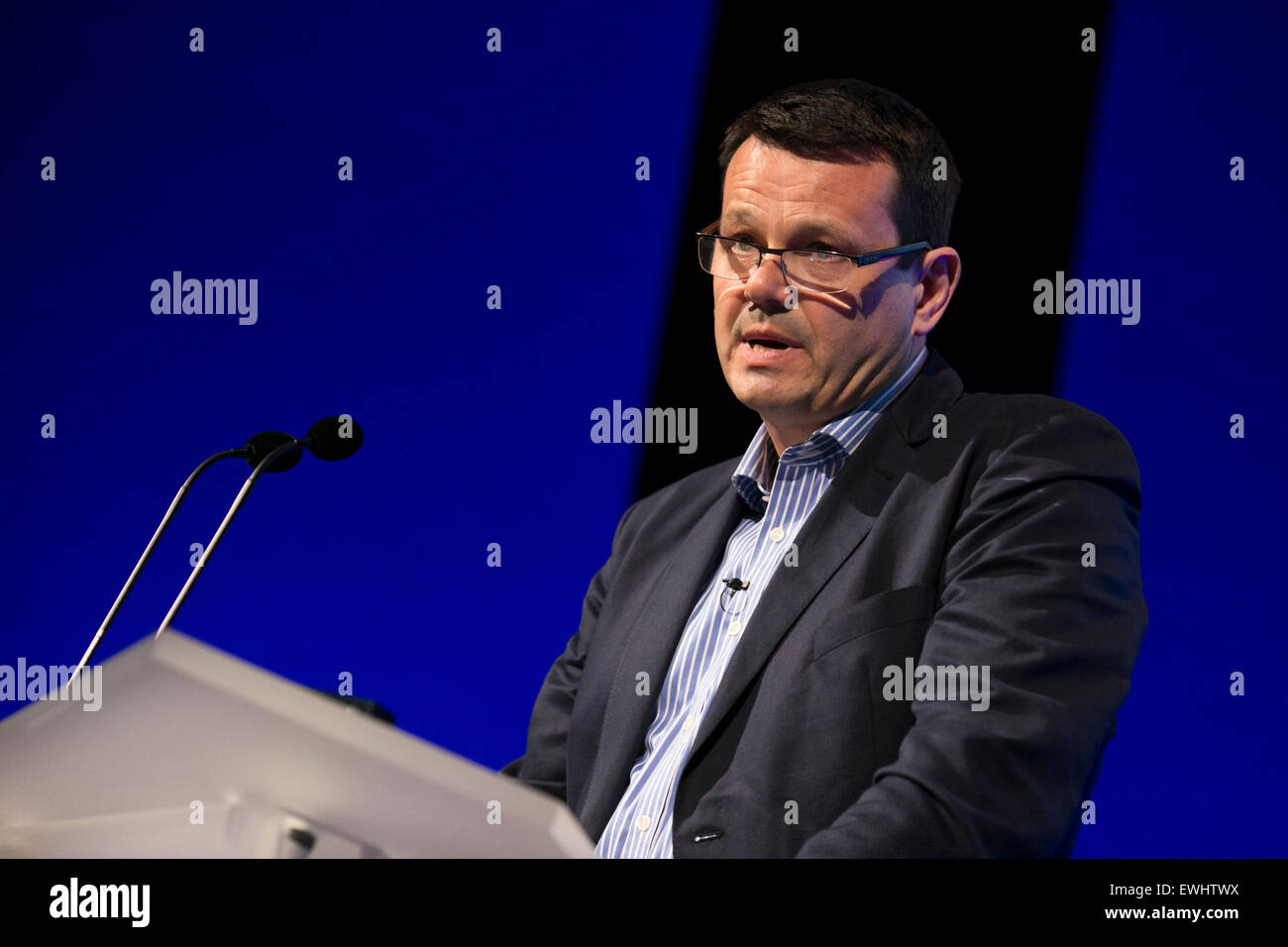 Charles Grundy Ð Chief Commercial Officer with Housing Partners. - Stock Image