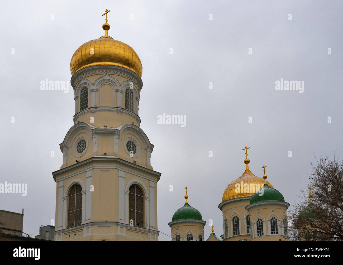 Holy Trinity Cathedral - a monument of architecture of the XIX century, a historical and cultural monument of Dnipropetrovsk - Stock Image